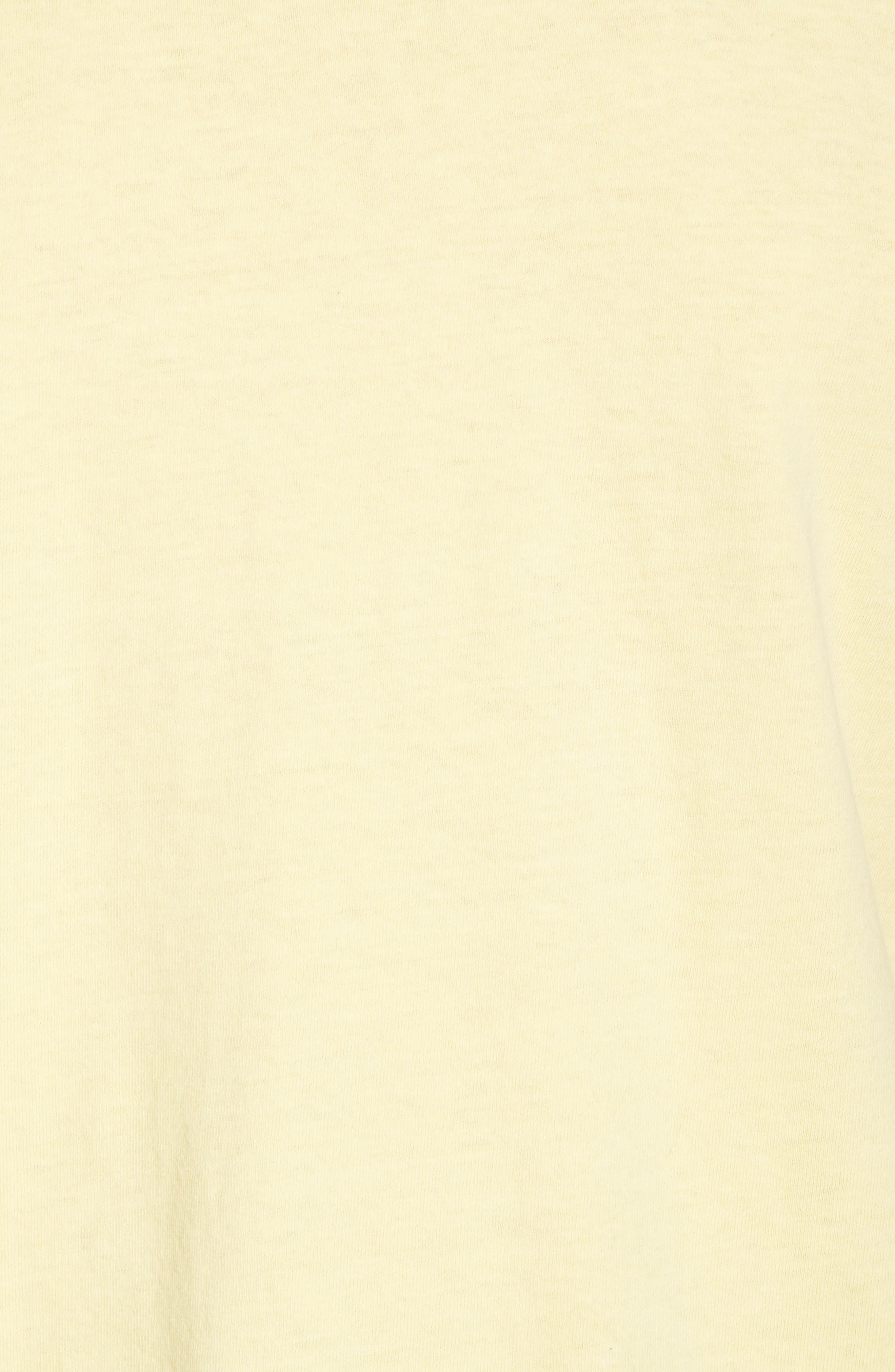 New World II Pigment T-Shirt,                             Alternate thumbnail 5, color,                             Dusty Lemon
