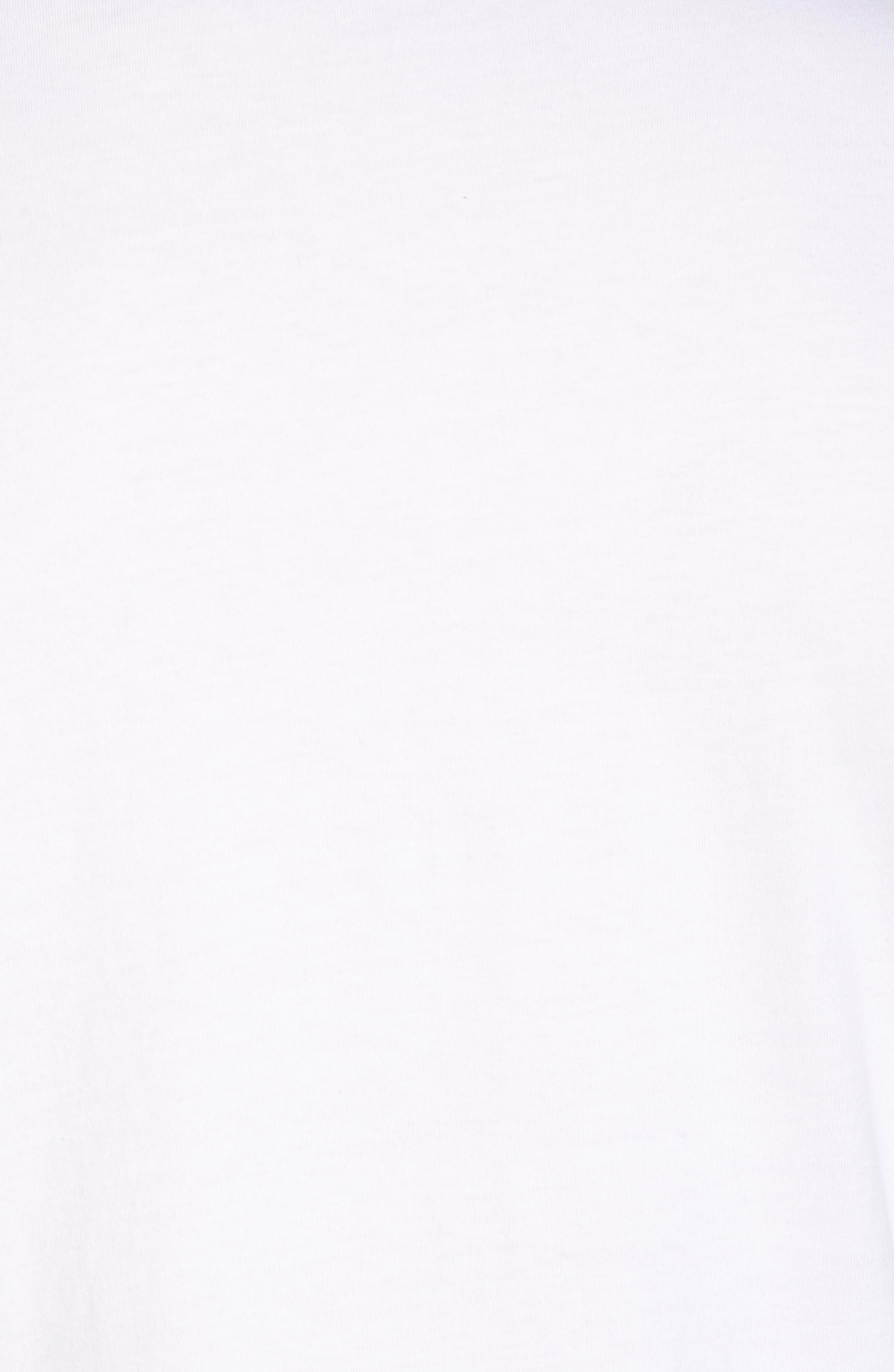 Radioactive Graphic T-Shirt,                             Alternate thumbnail 5, color,                             White