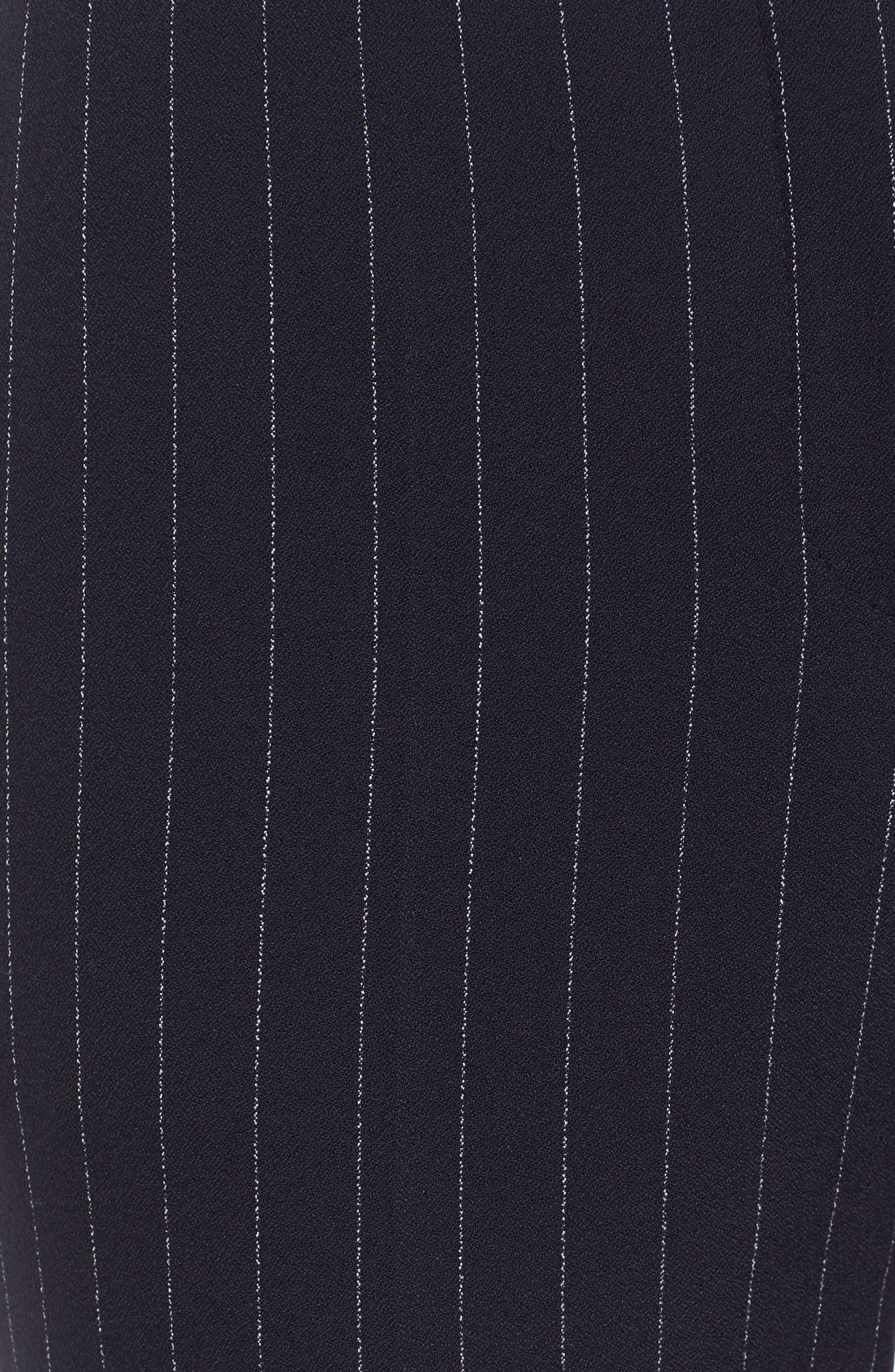 Titana Pinstripe Suit Trousers,                             Alternate thumbnail 7, color,                             Navy Fantasy