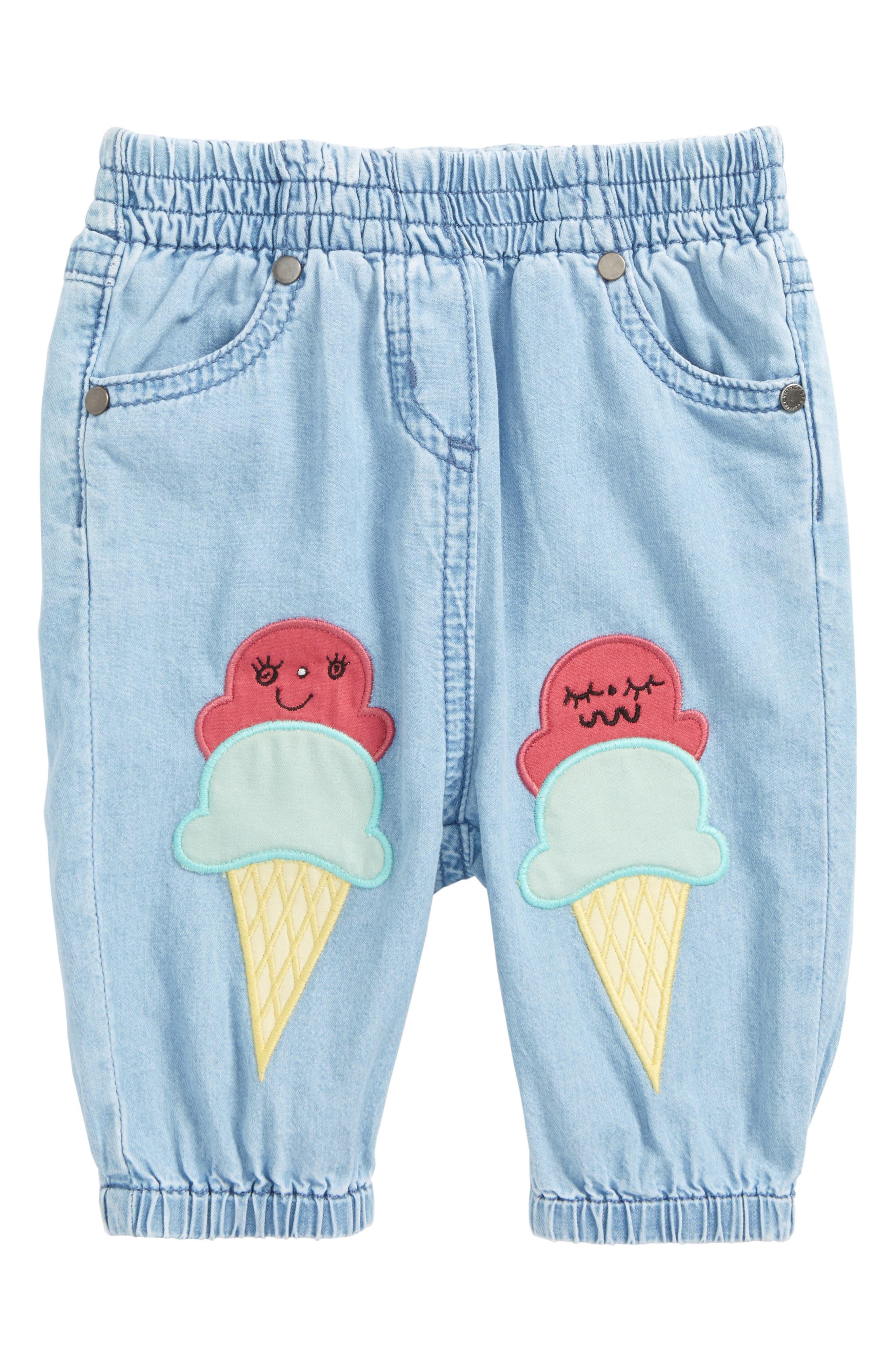 Pipkin Chambray Pants,                         Main,                         color, Denim