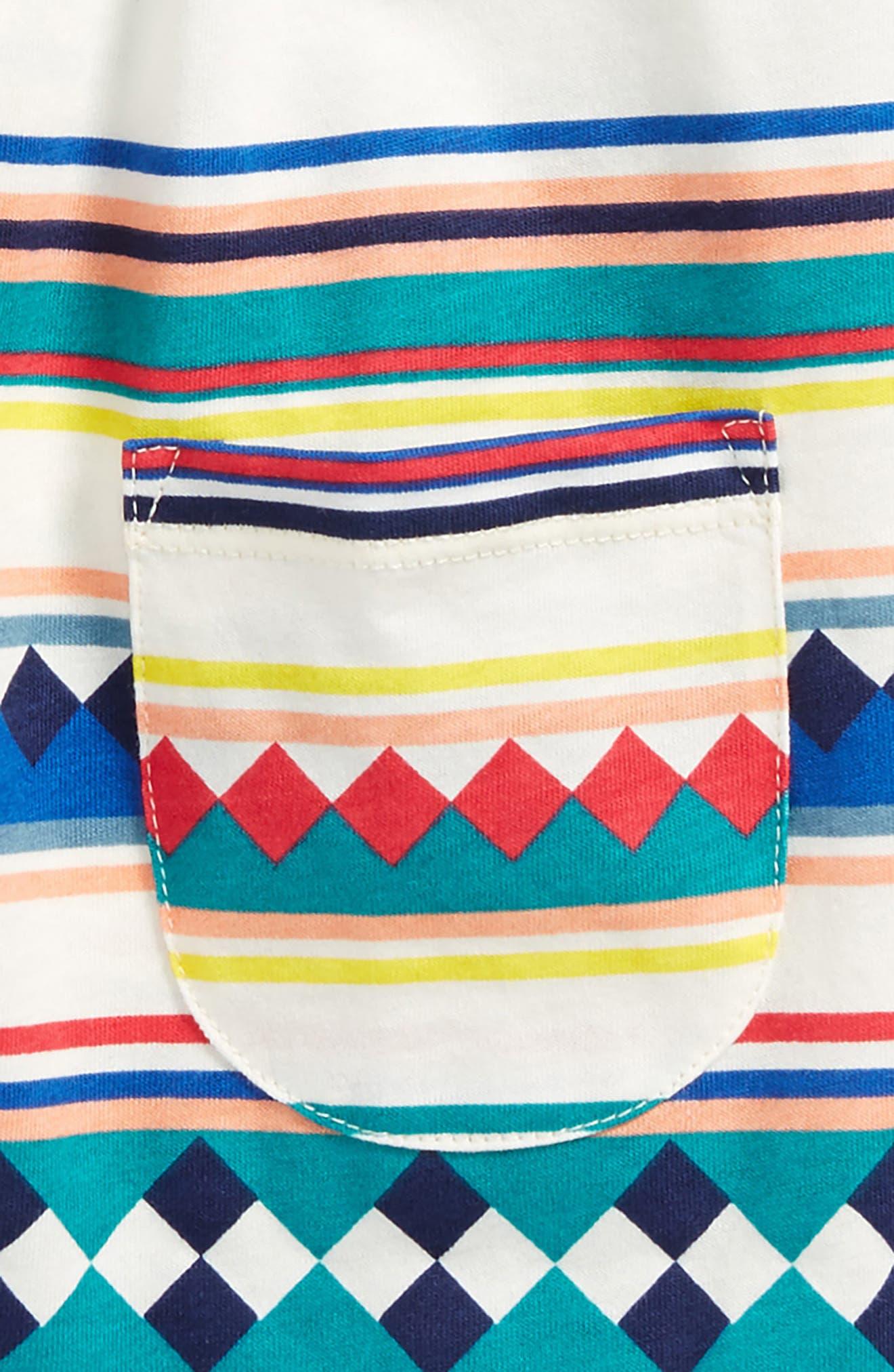 Mighty Mini Dress,                             Alternate thumbnail 2, color,                             Seminole Patchwork Stripe