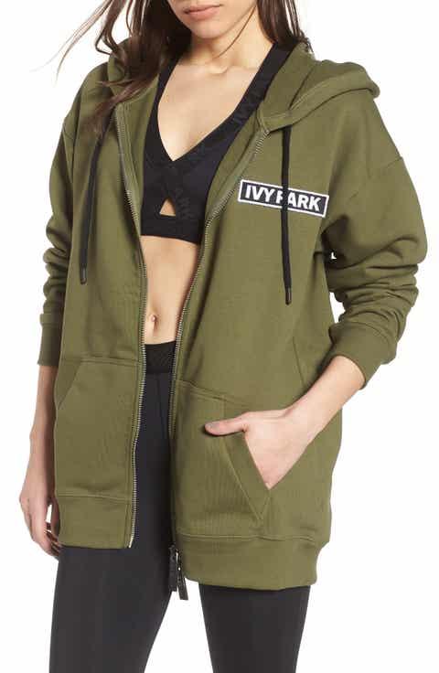 IVY PARK® Badge Logo Hoodie