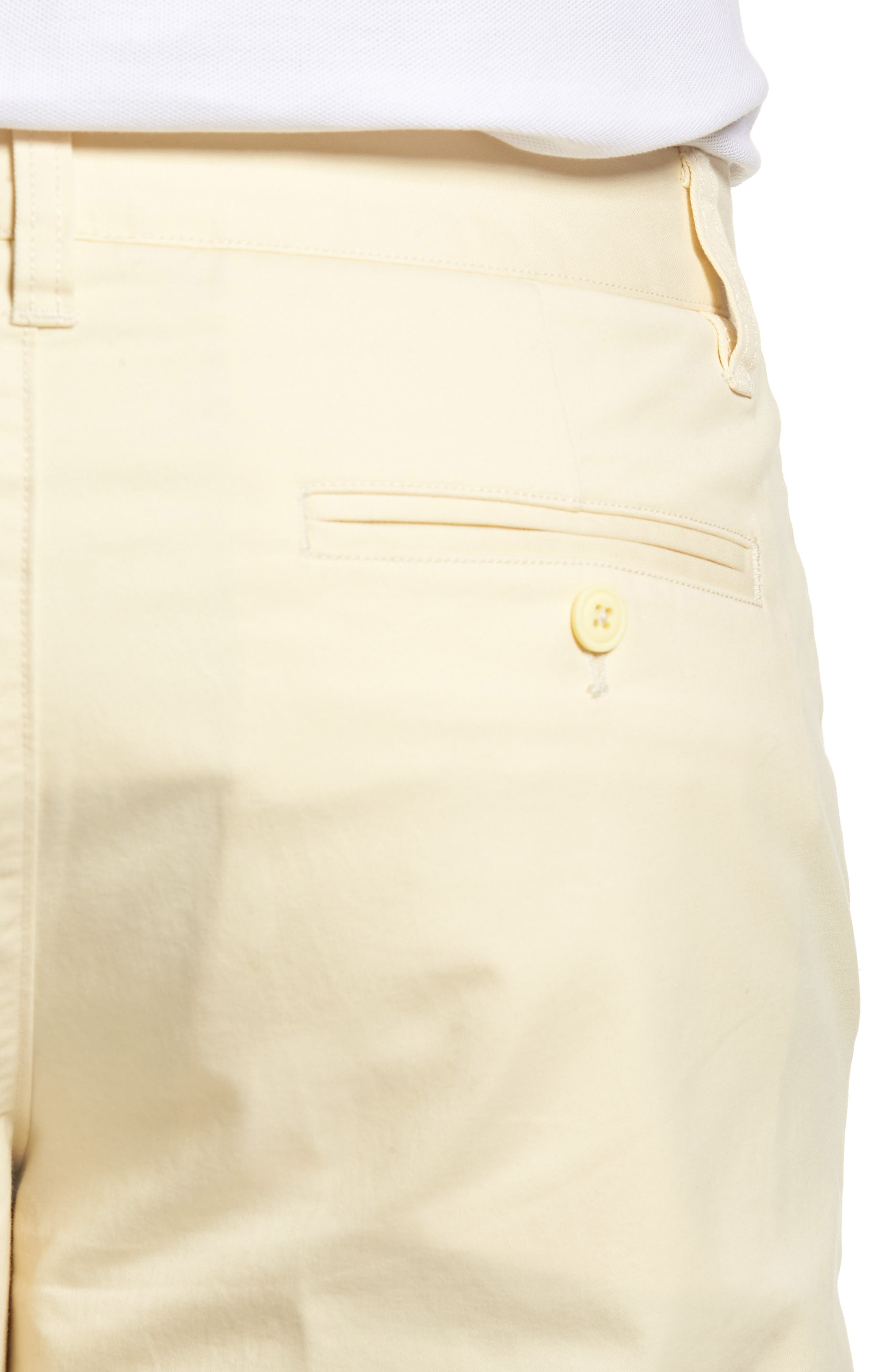 Stretch Washed Chino 11-Inch Shorts,                             Alternate thumbnail 4, color,                             Sun In
