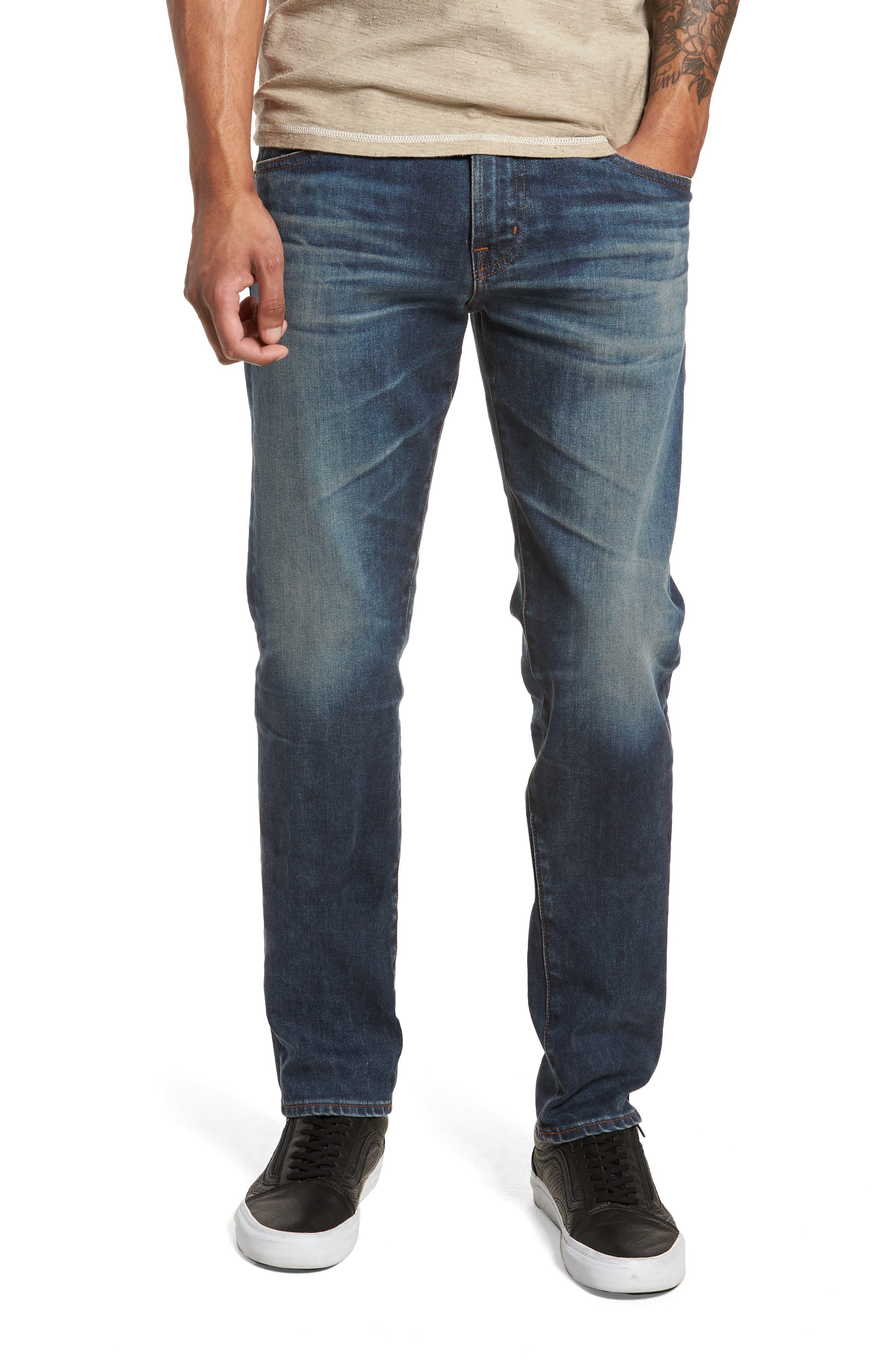Dylan Slim Skinny Fit Jeans,                             Main thumbnail 1, color,                             12 Years River Veil