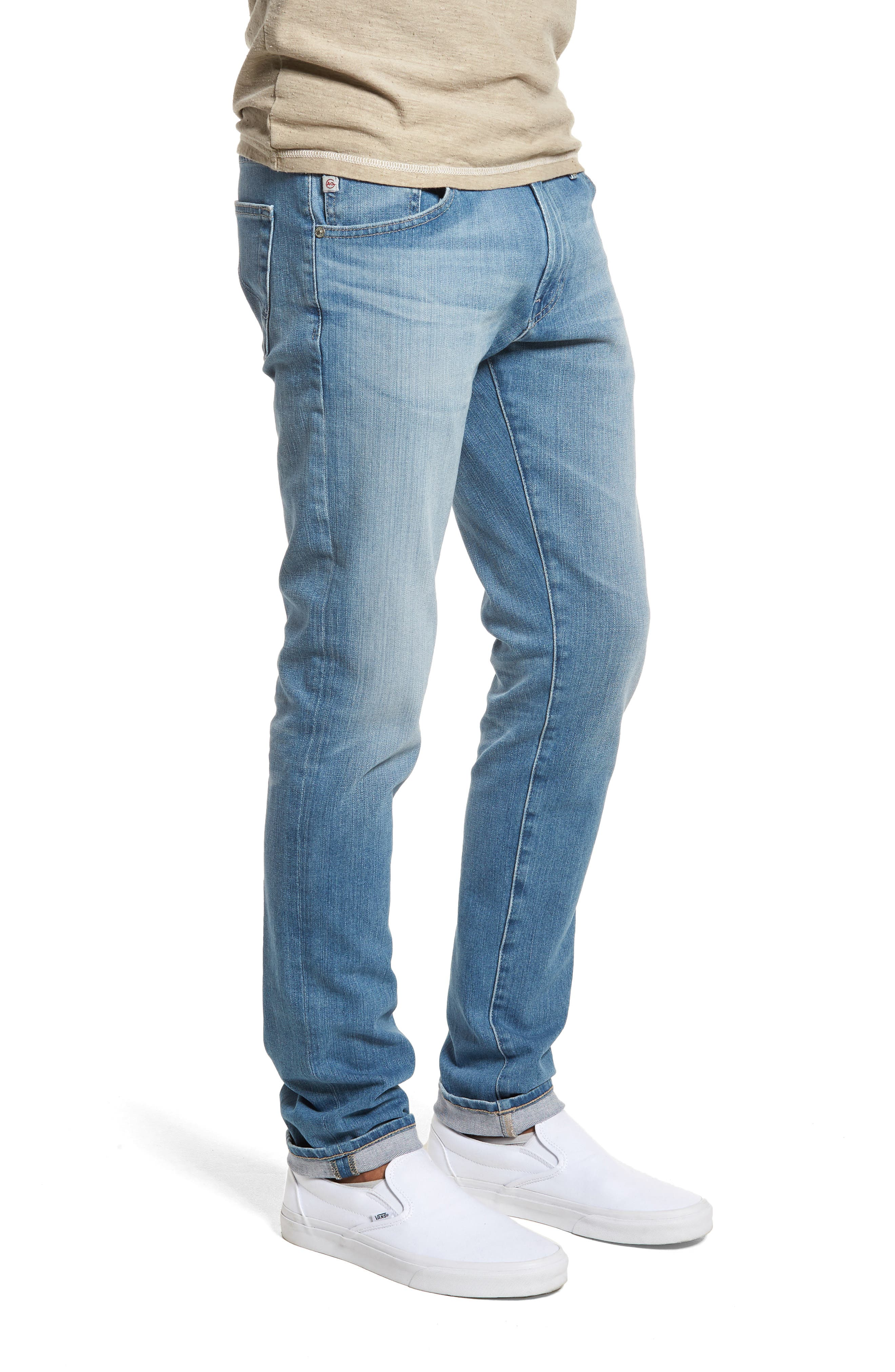 Dylan Skinny Fit Jeans,                             Alternate thumbnail 3, color,                             19 Years Channel