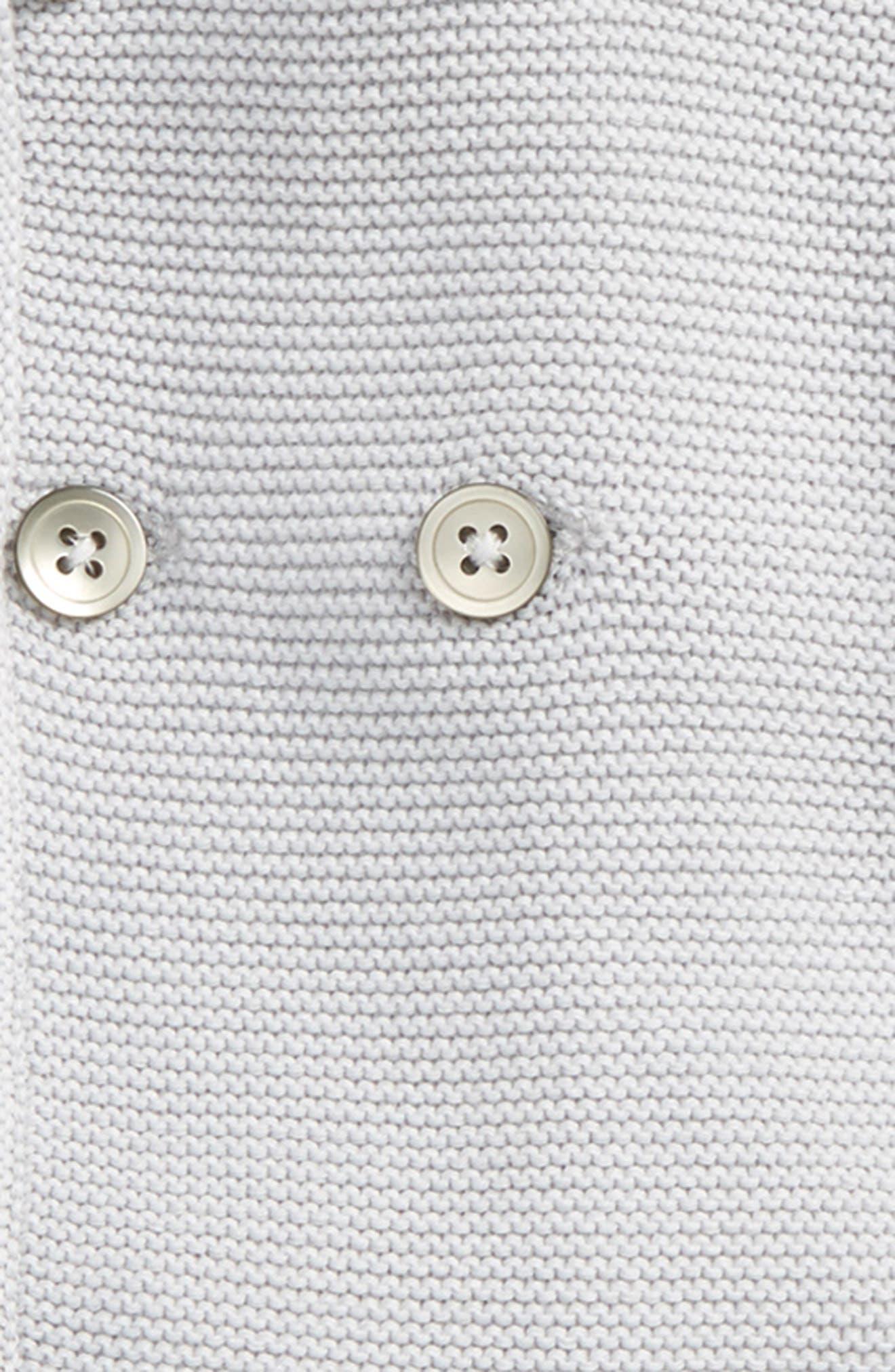 Hooded Knit Jacket & Pants Set,                             Alternate thumbnail 2, color,                             Sterling