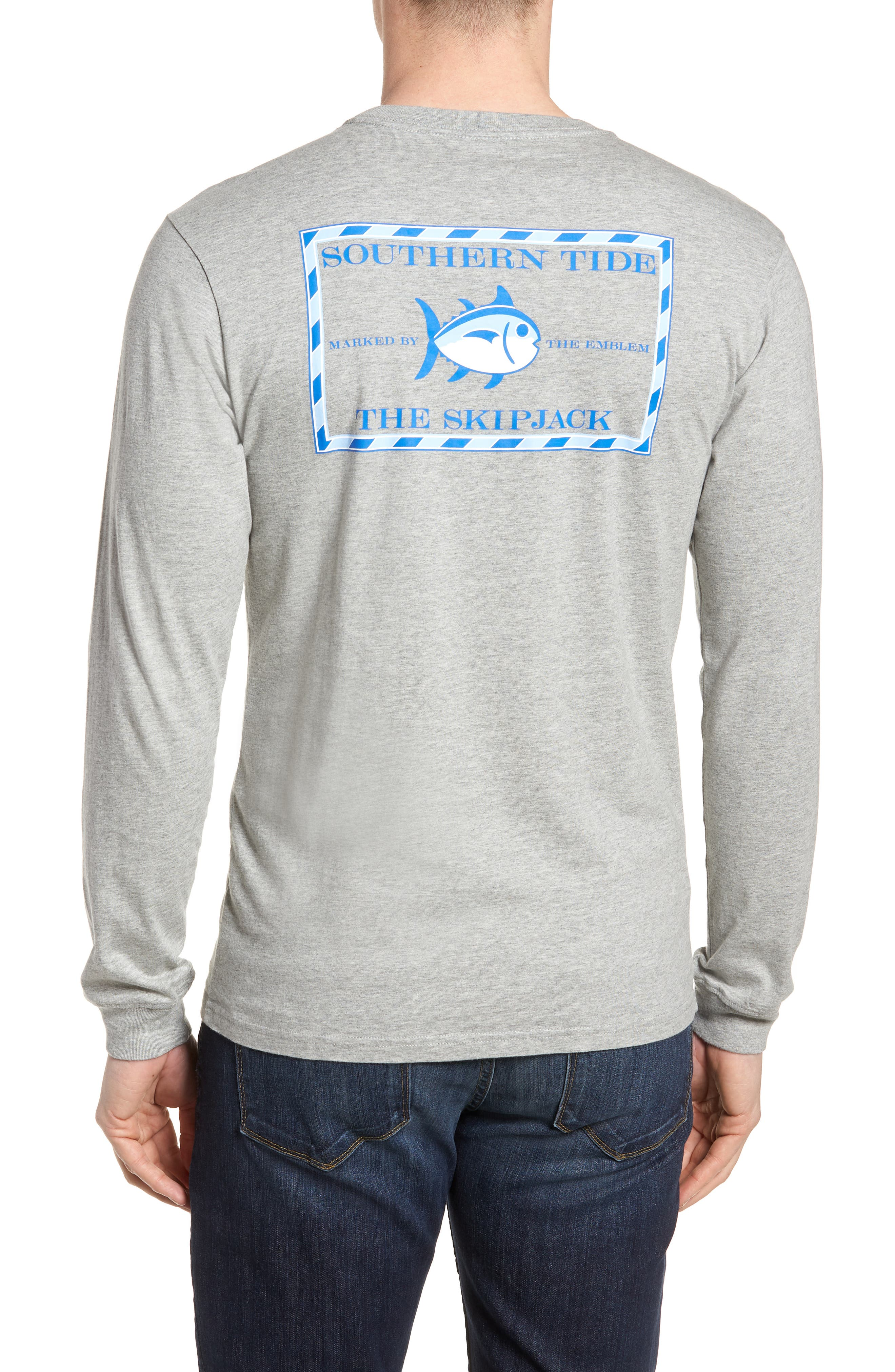 Original Skipjack T-Shirt,                             Alternate thumbnail 2, color,                             Grey