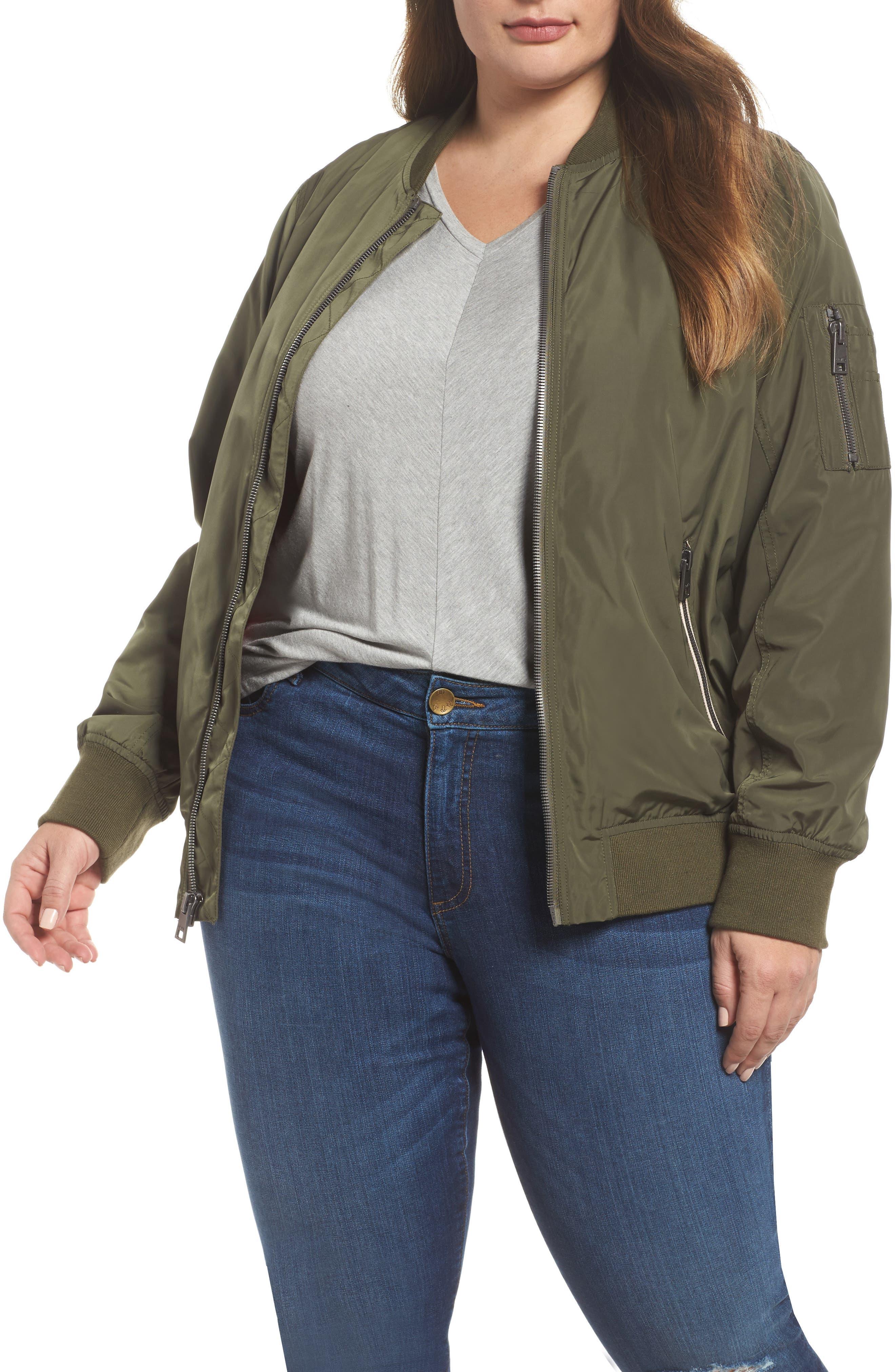 Levi's® Bomber Jacket (Plus Size)