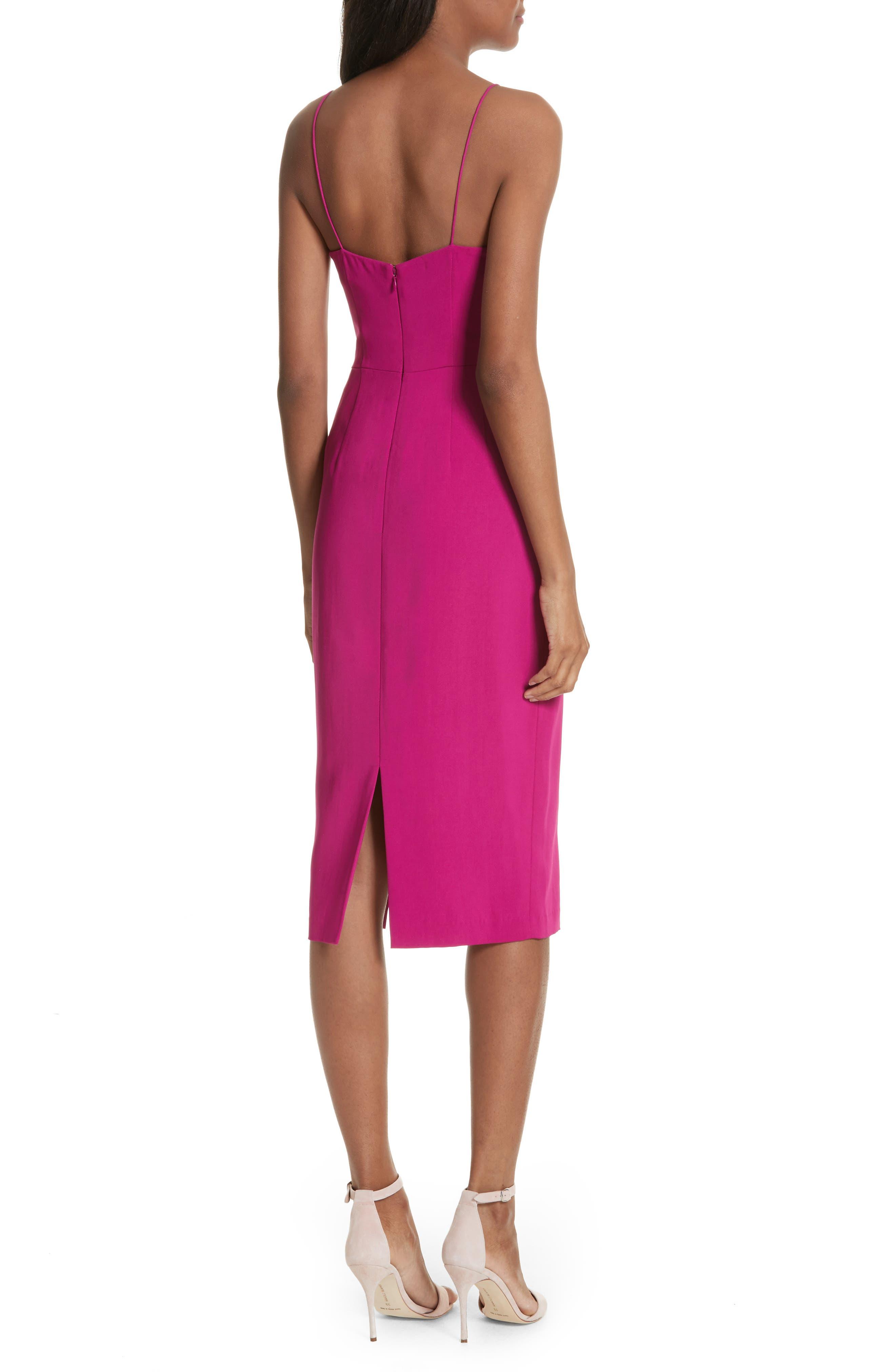 Slip Sheath Dress,                             Alternate thumbnail 2, color,                             Cyclamen