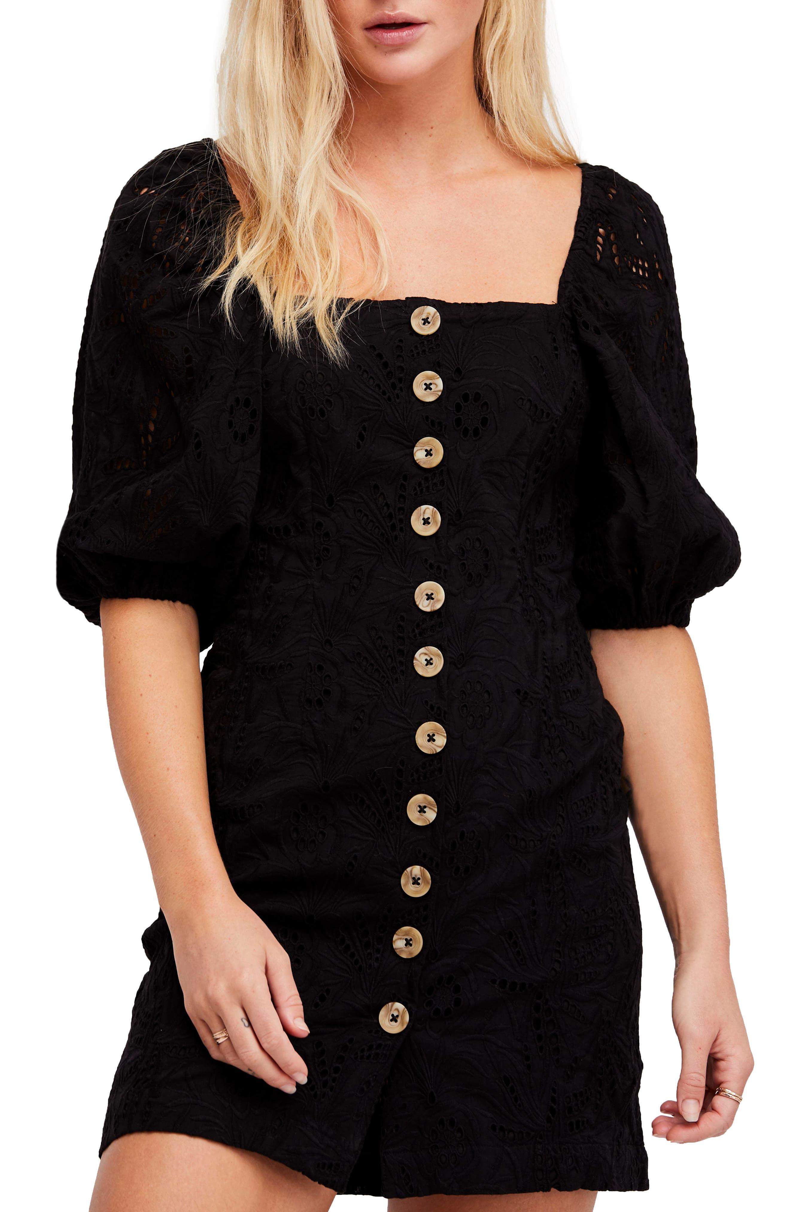 Daniella Minidress,                         Main,                         color, Black