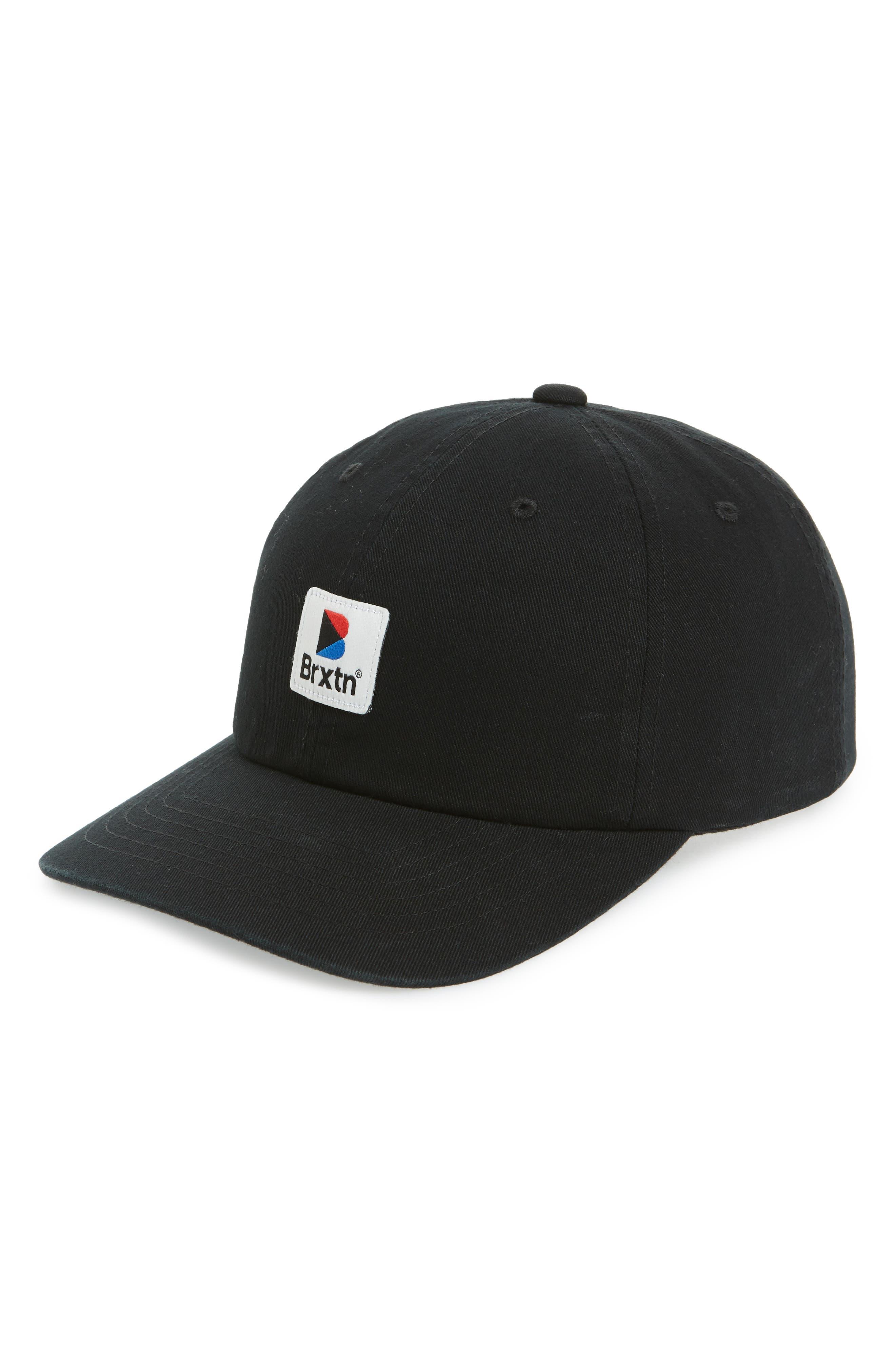 Stowell Baseball Cap,                         Main,                         color, Black
