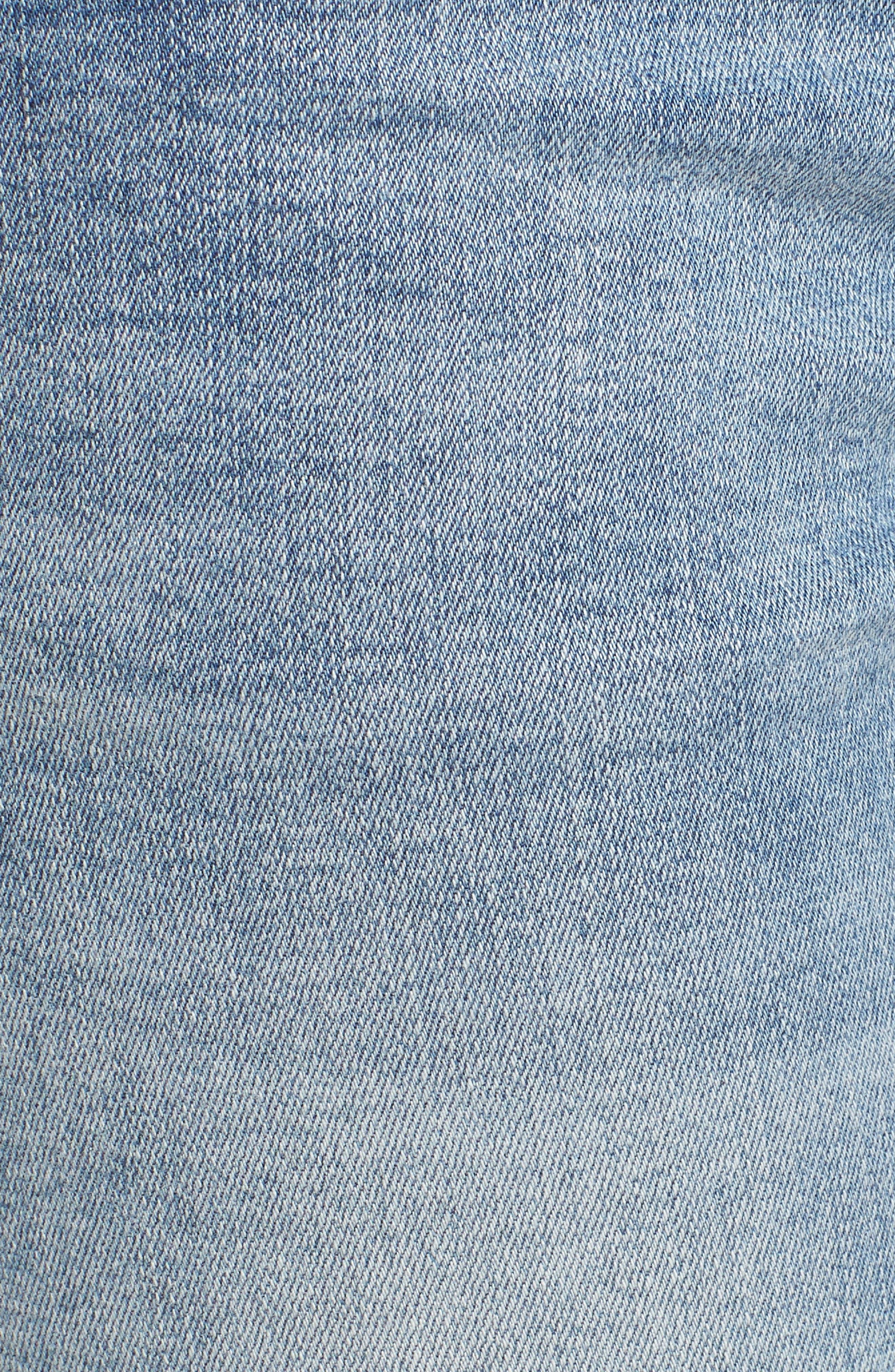 Freebirds Skinny Jeans,                             Alternate thumbnail 6, color,                             Cobaine