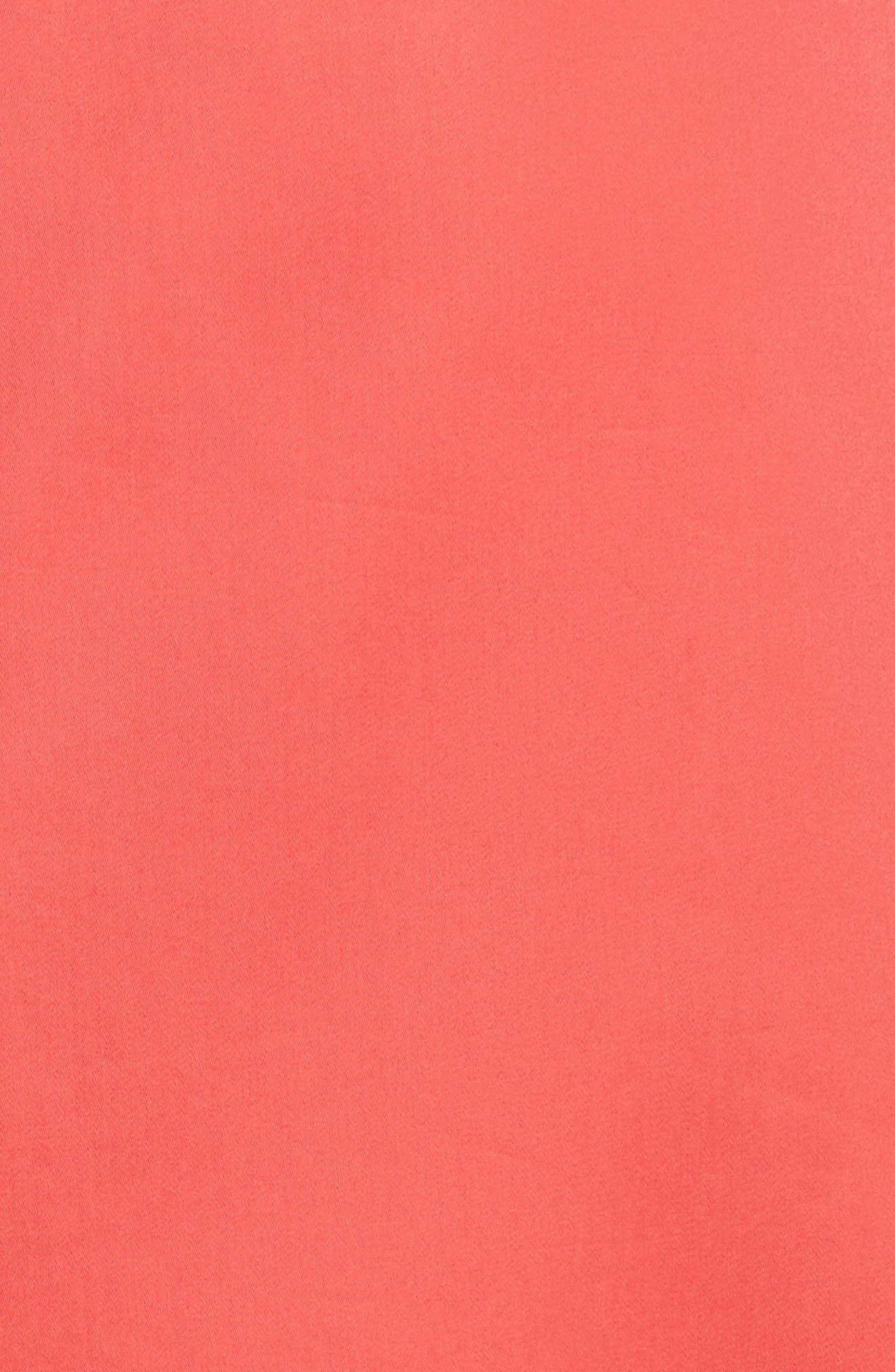 Prose & Poetry Tyra Midi Skirt,                             Alternate thumbnail 5, color,                             Watermelon