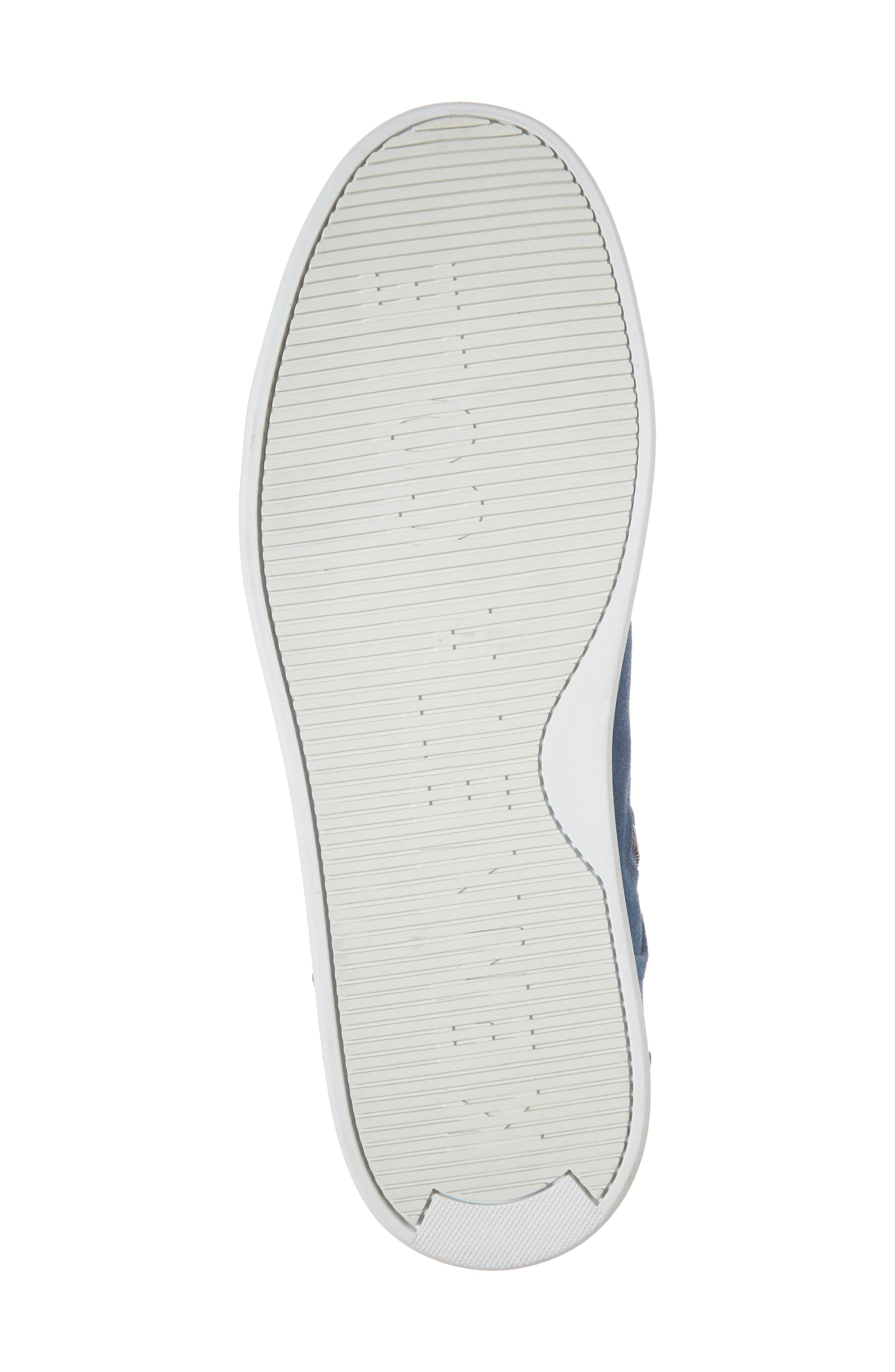 Double Header Sneaker,                             Alternate thumbnail 6, color,                             Blue Suede