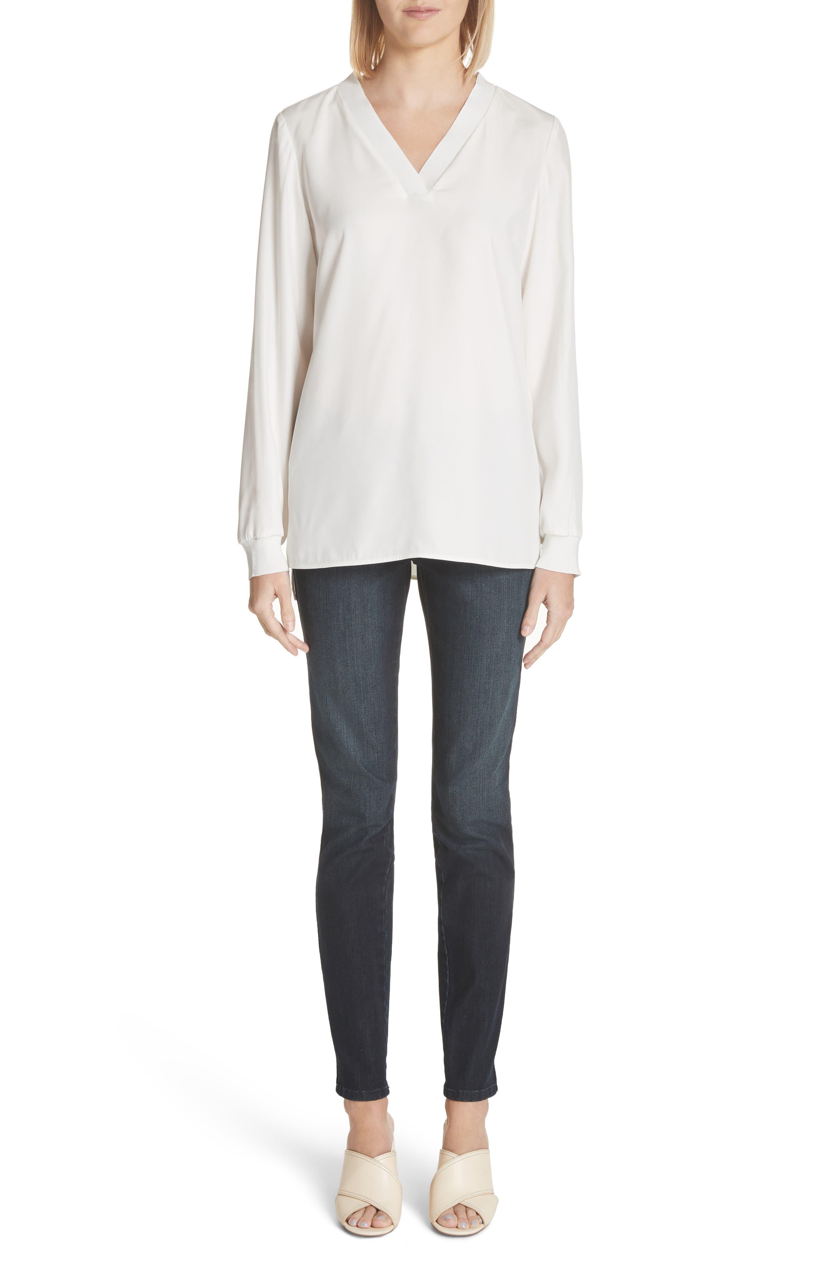 Mercer Skinny Jeans,                             Alternate thumbnail 2, color,                             Indigo
