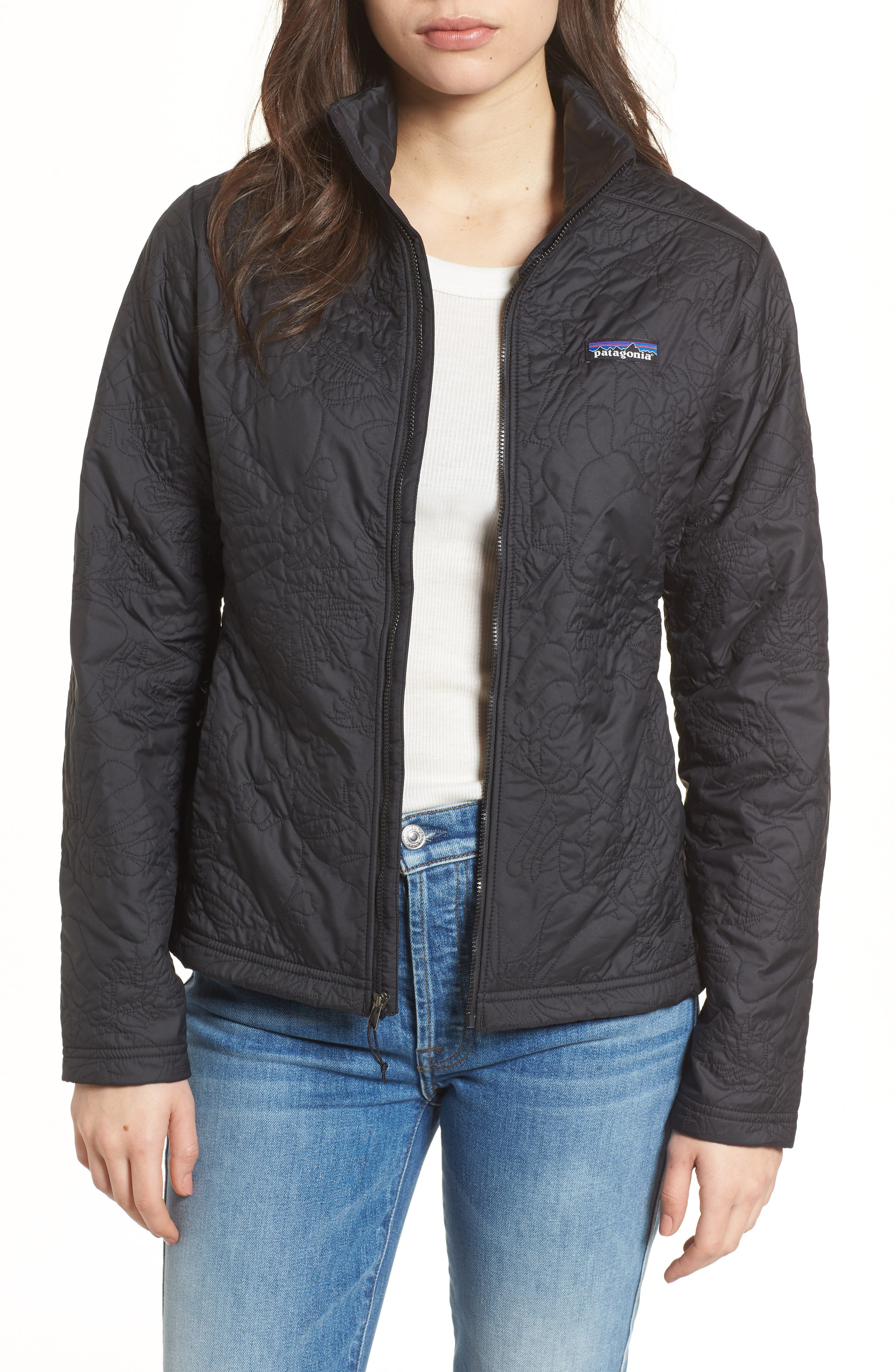 Orchid Cove Jacket,                         Main,                         color, Valley Quilt Black