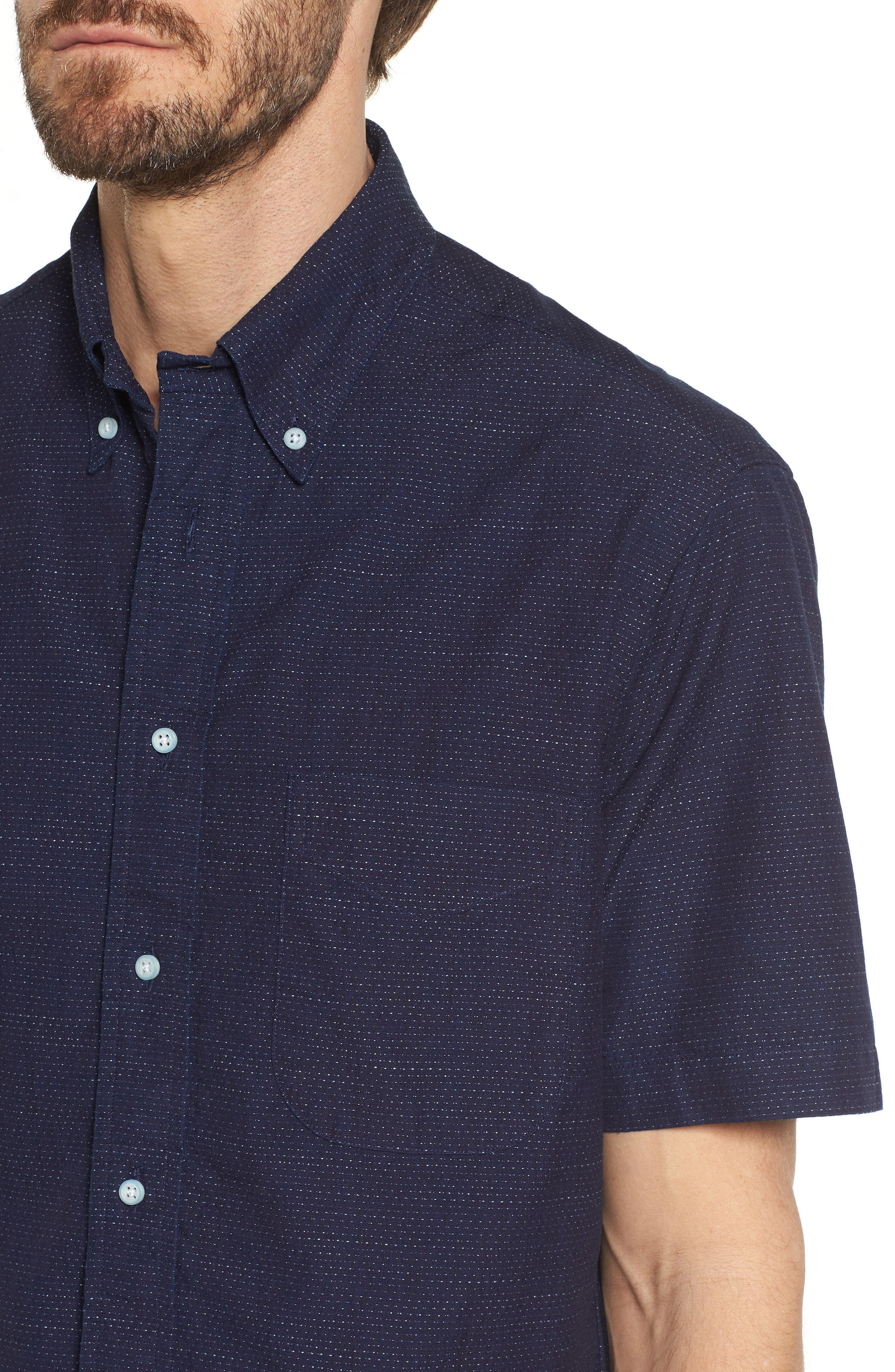 Camp Shirt,                             Alternate thumbnail 2, color,                             Navy