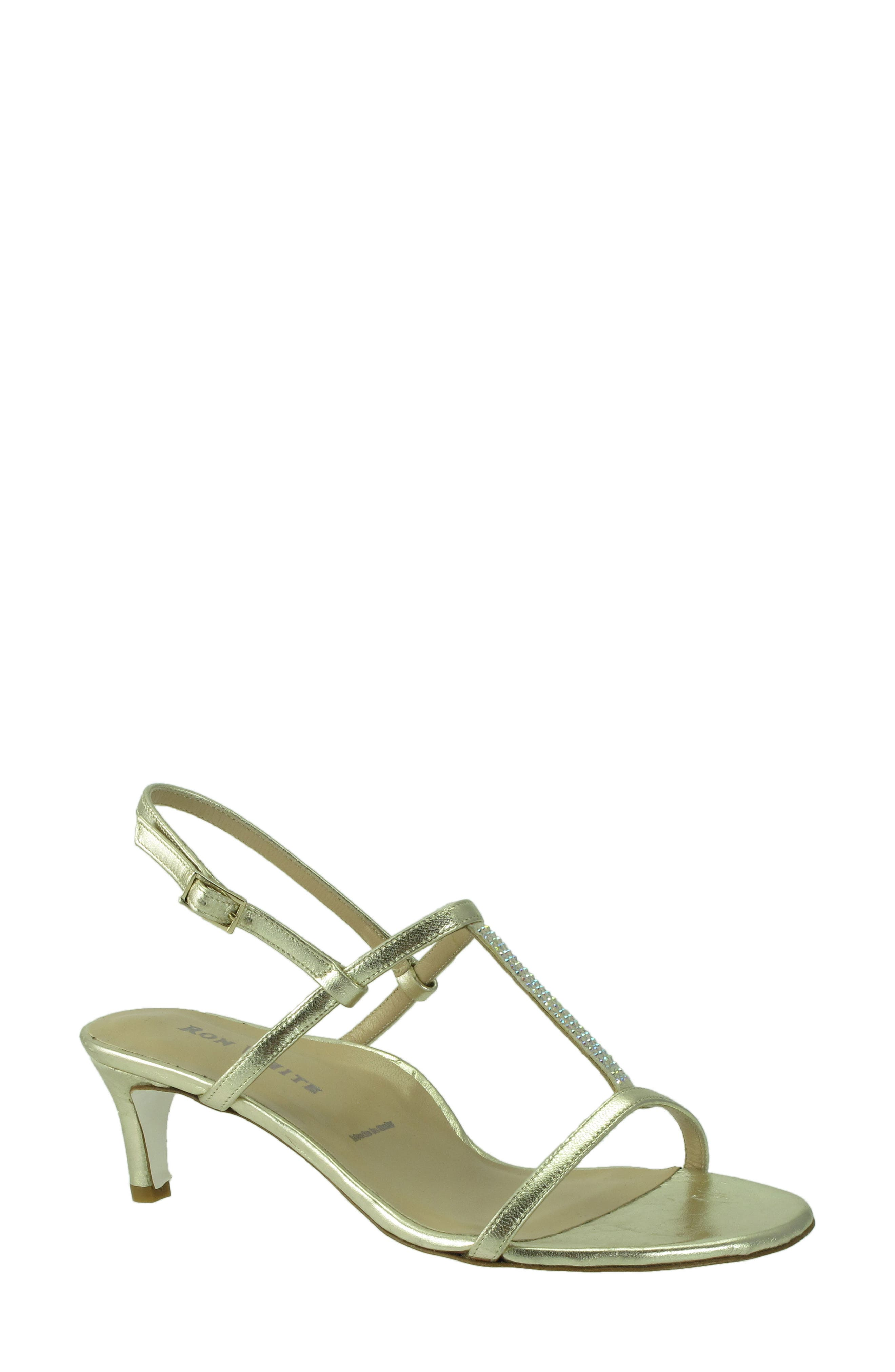 Floto Sandal,                         Main,                         color, Platino Leather