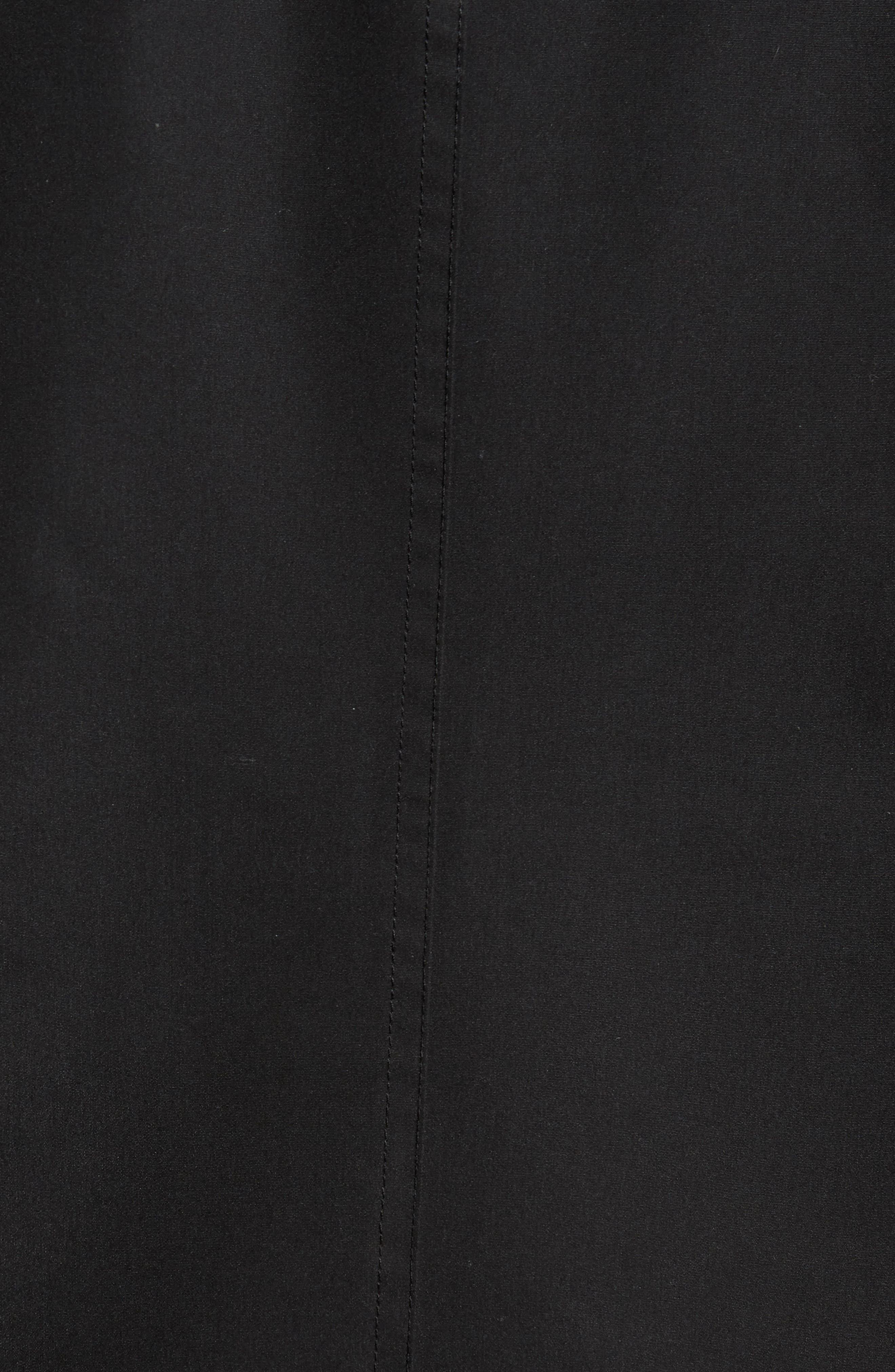 Raincoat,                             Alternate thumbnail 5, color,                             Black