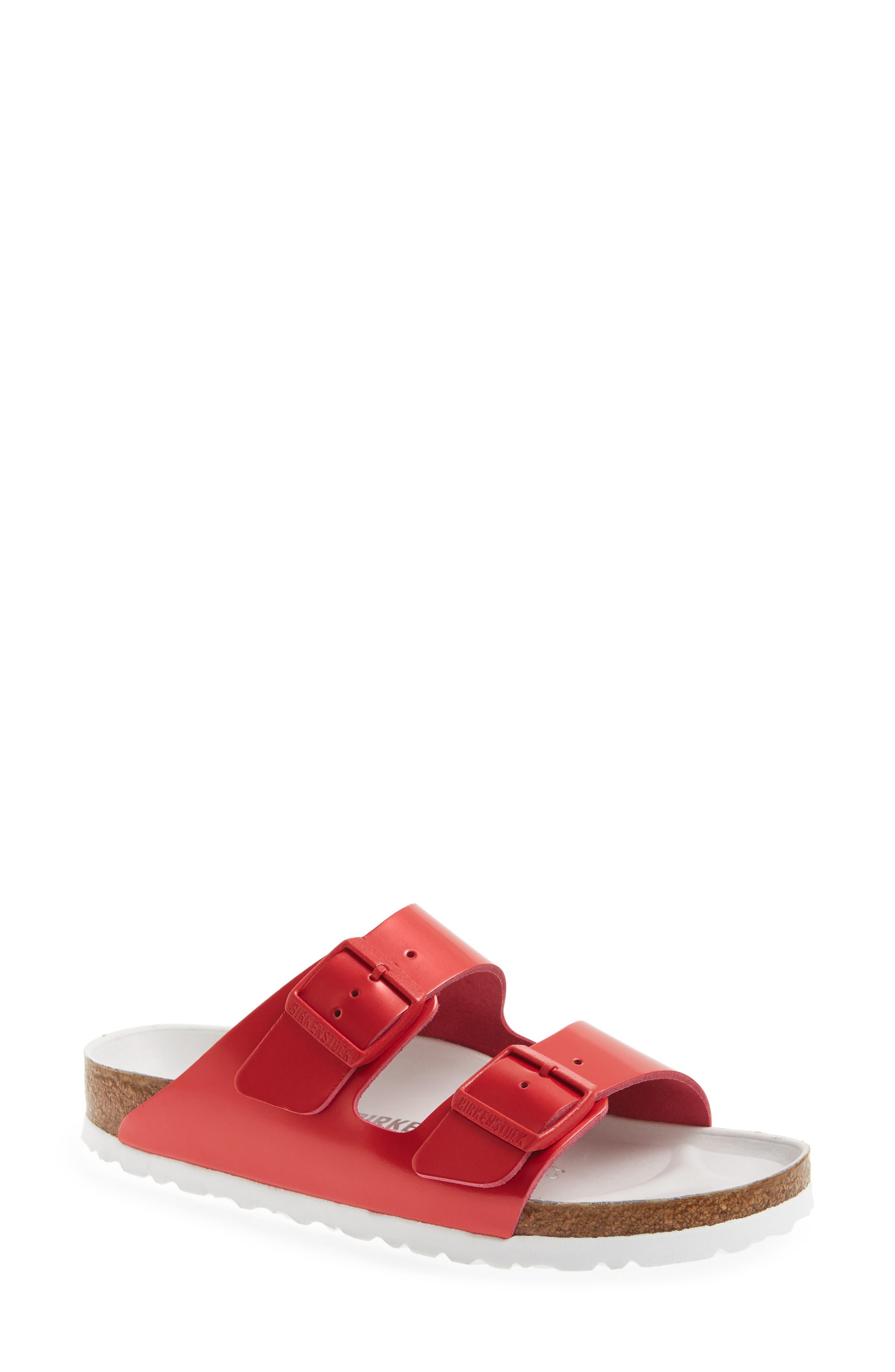 Alternate Image 1 Selected - Birkenstock Arizona Hex Limited Edition - Shock Drop Slide Sandal (Women)