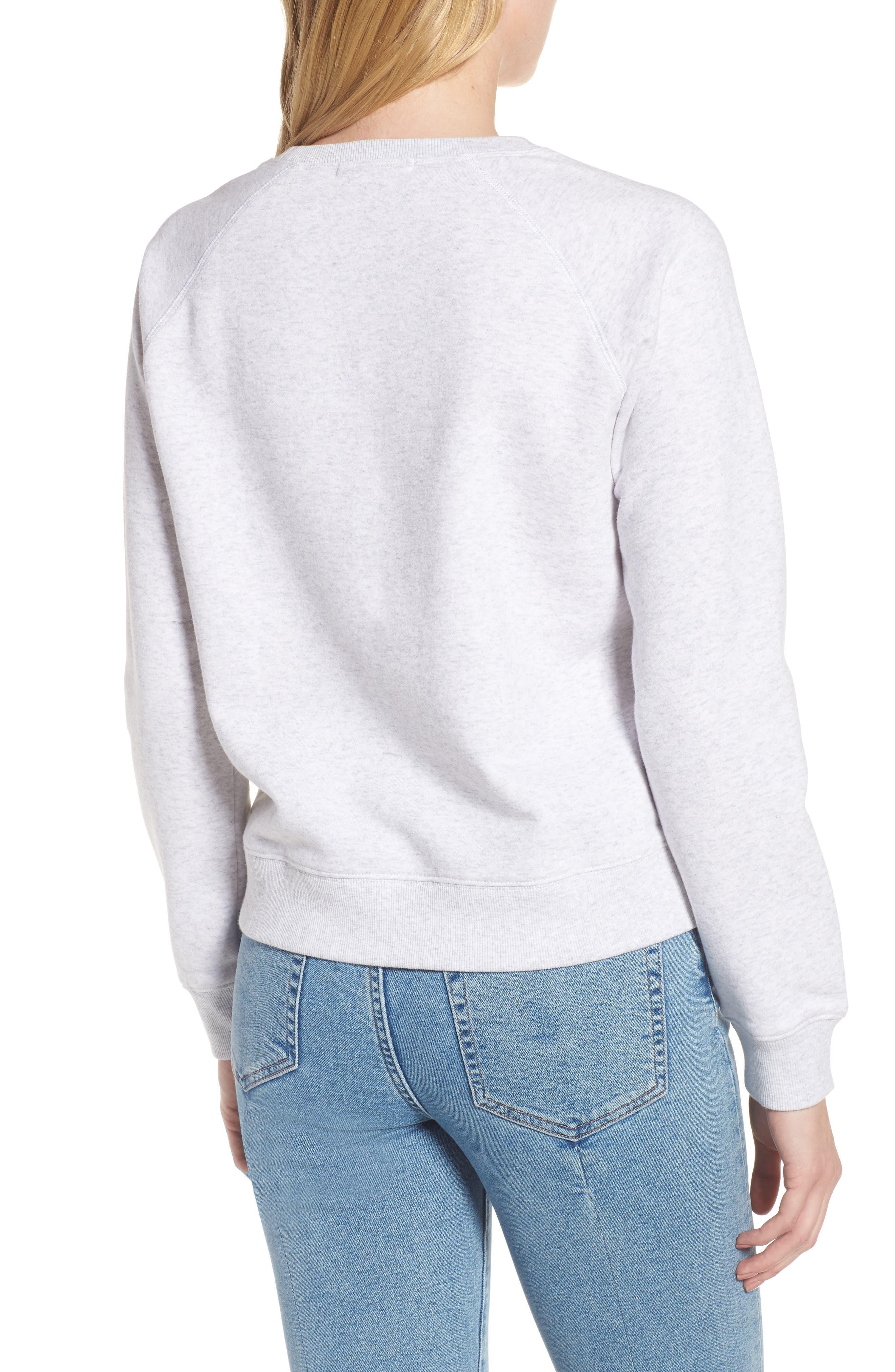 Alternate Image 2  - Rebecca Minkoff Girl Power Sweatshirt
