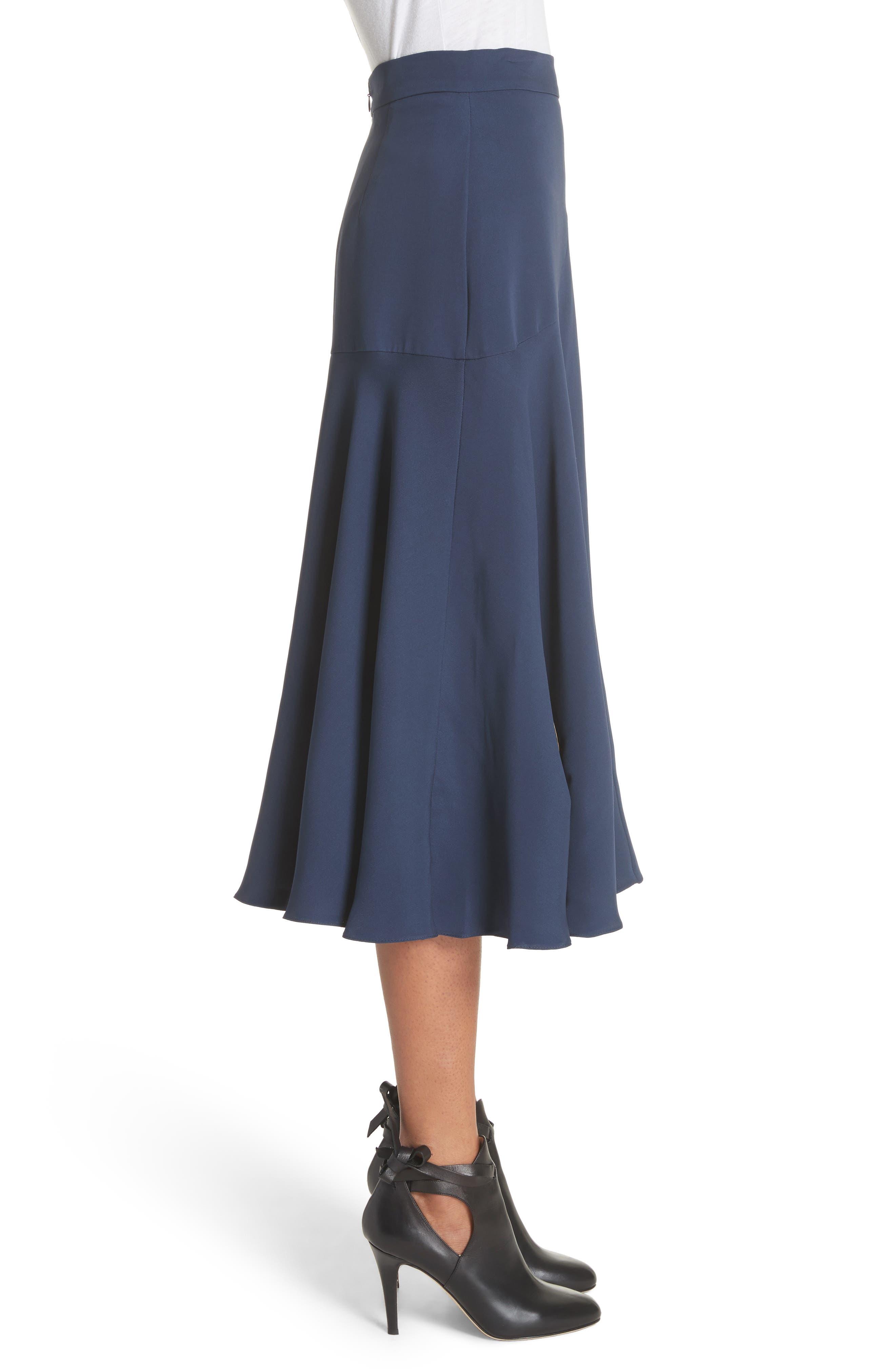 Alternate Image 3  - Roksanda Carson Silk Skirt
