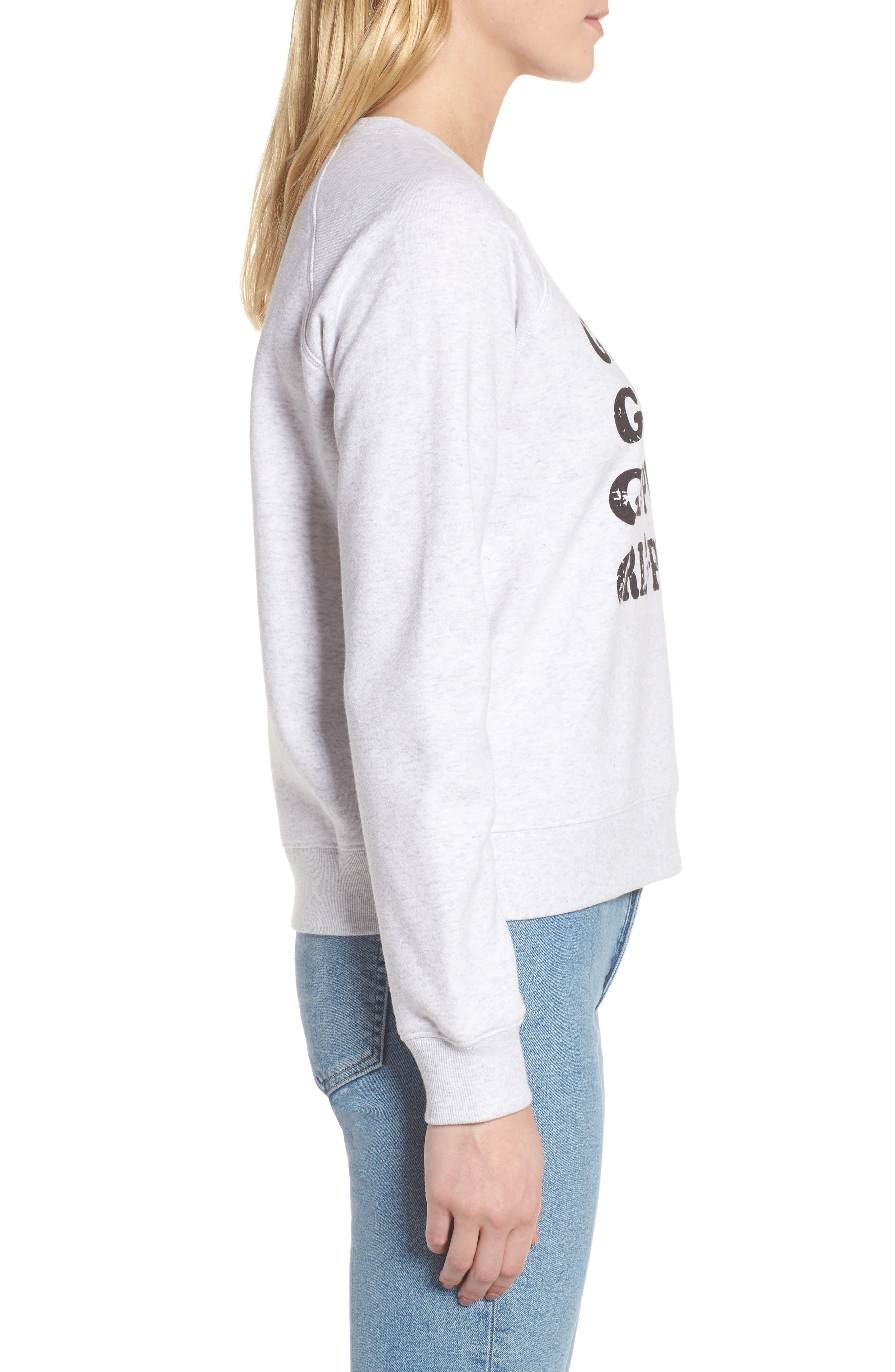 Alternate Image 3  - Rebecca Minkoff Girl Power Sweatshirt