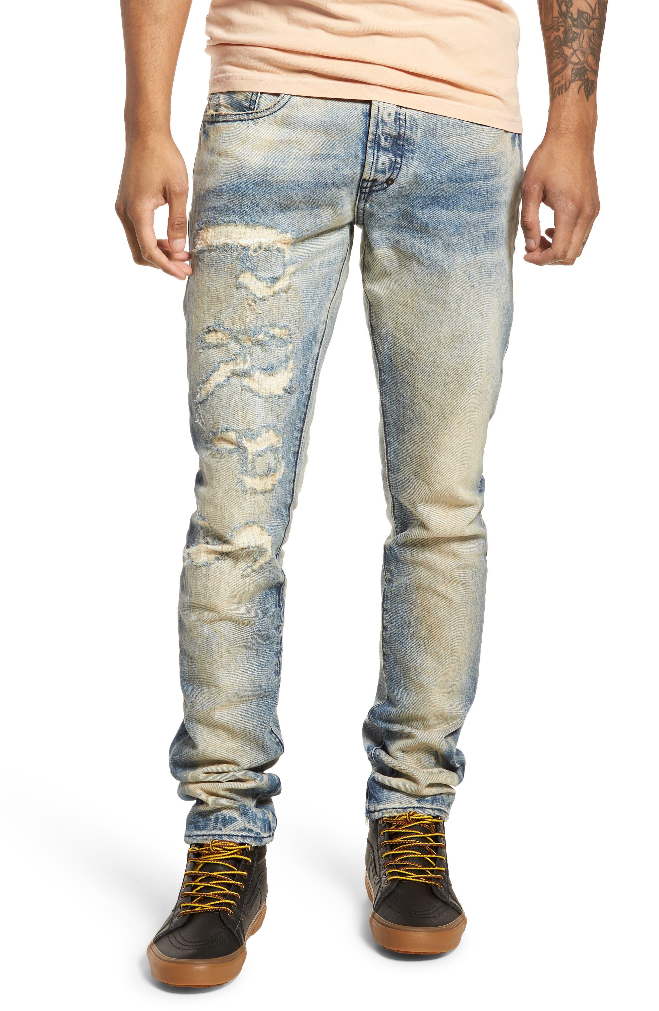 Le Sabre Tapered Fit Jeans,                         Main,                         color, Quiet