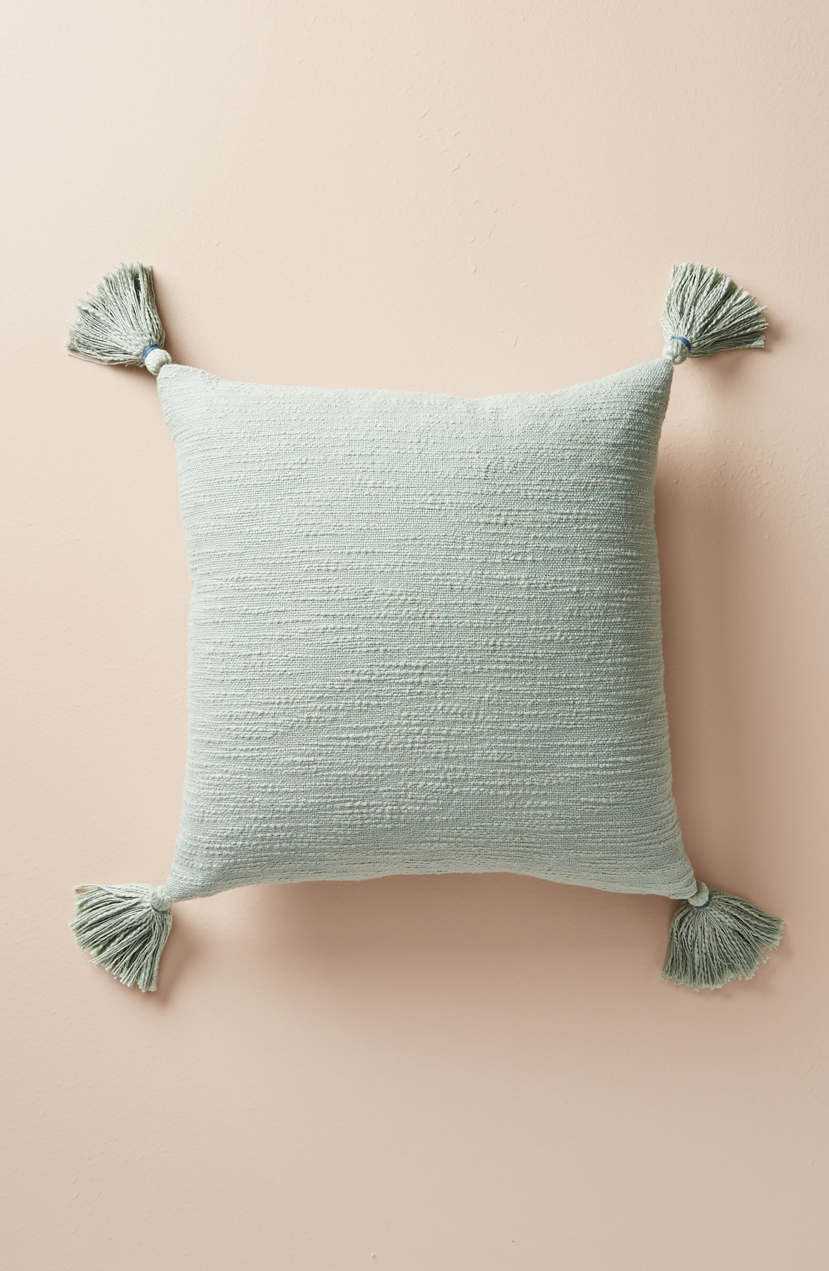 Rayas Accent Pillow,                             Alternate thumbnail 2, color,                             Wedgewood Blue