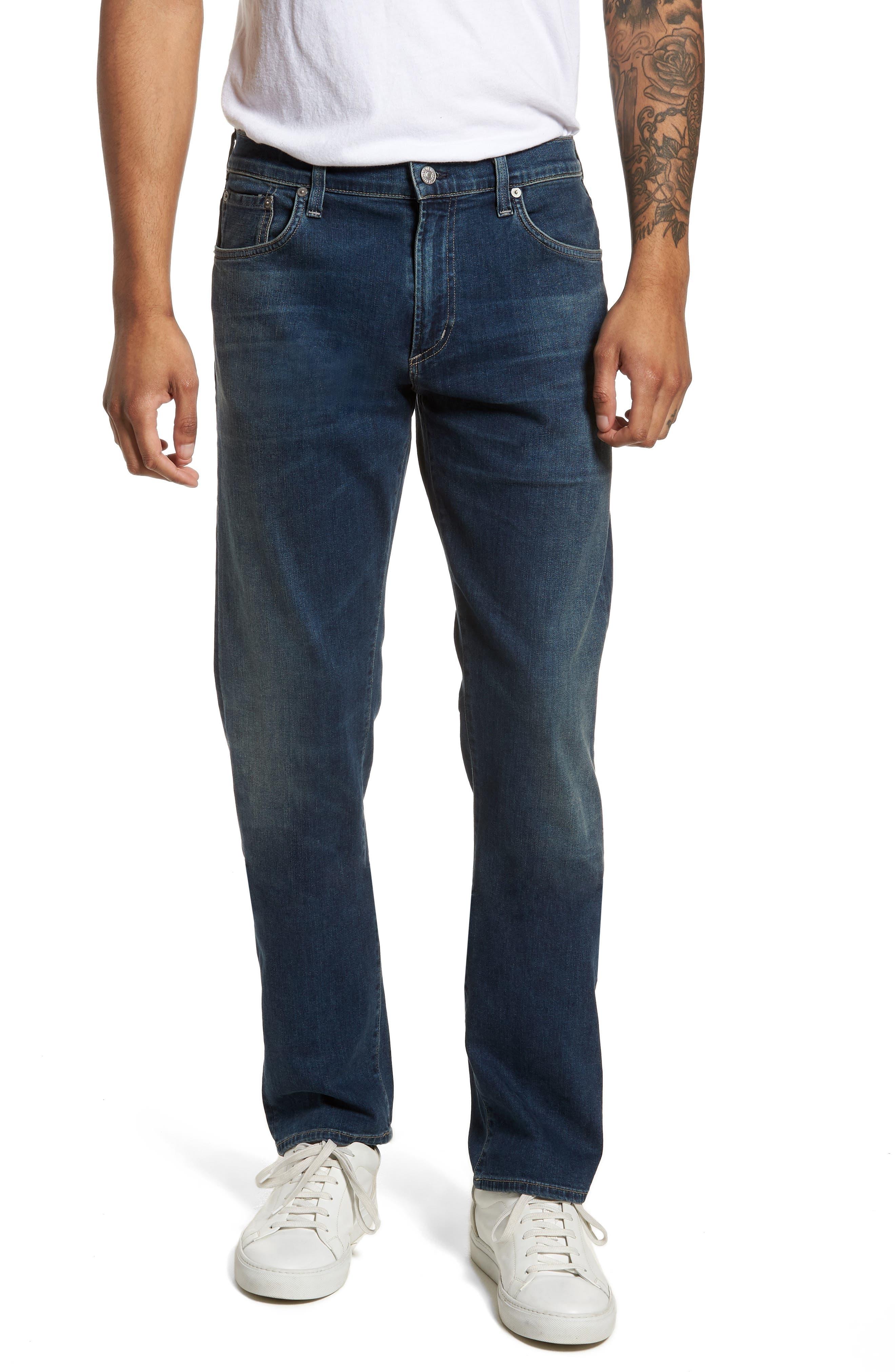 Core Slim Fit Jeans,                             Main thumbnail 1, color,                             Unison