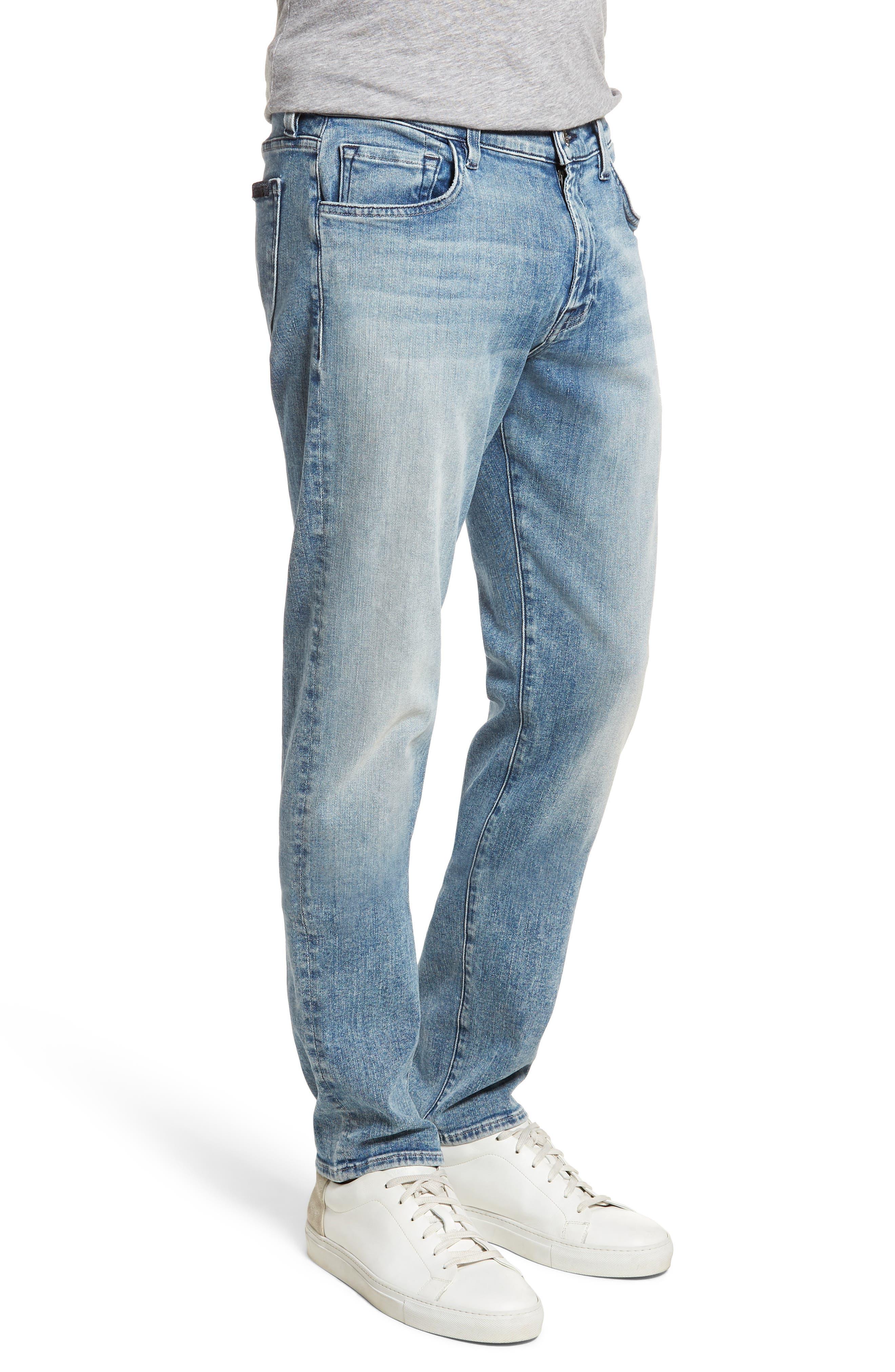 Adrien Slim Fit Jeans,                             Alternate thumbnail 3, color,                             Death Valley