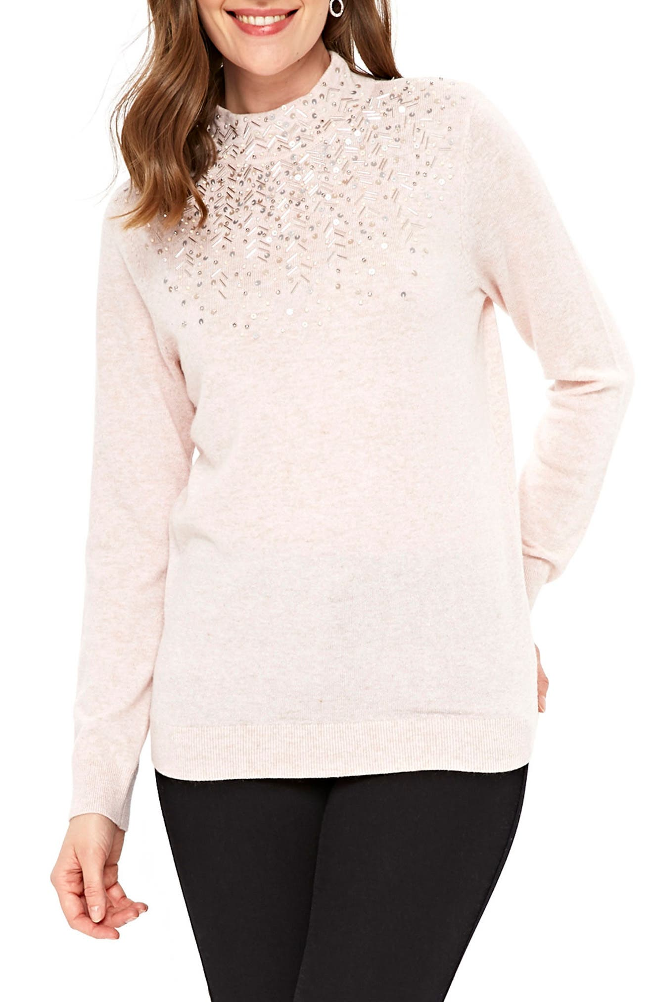Wallis Beaded Sweater
