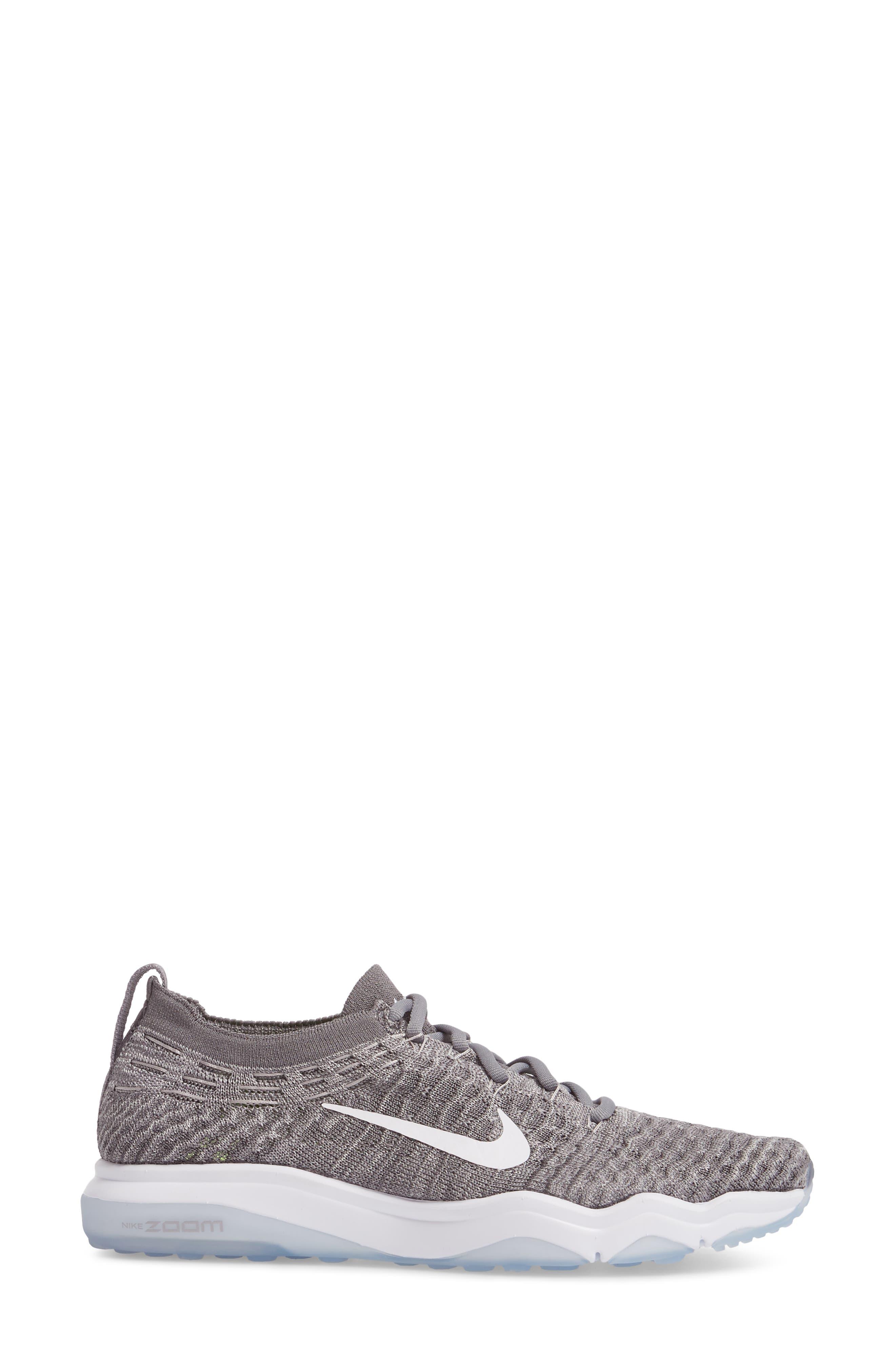 Alternate Image 3  - Nike Air Zoom Fearless Flyknit Lux Training Shoe (Women)