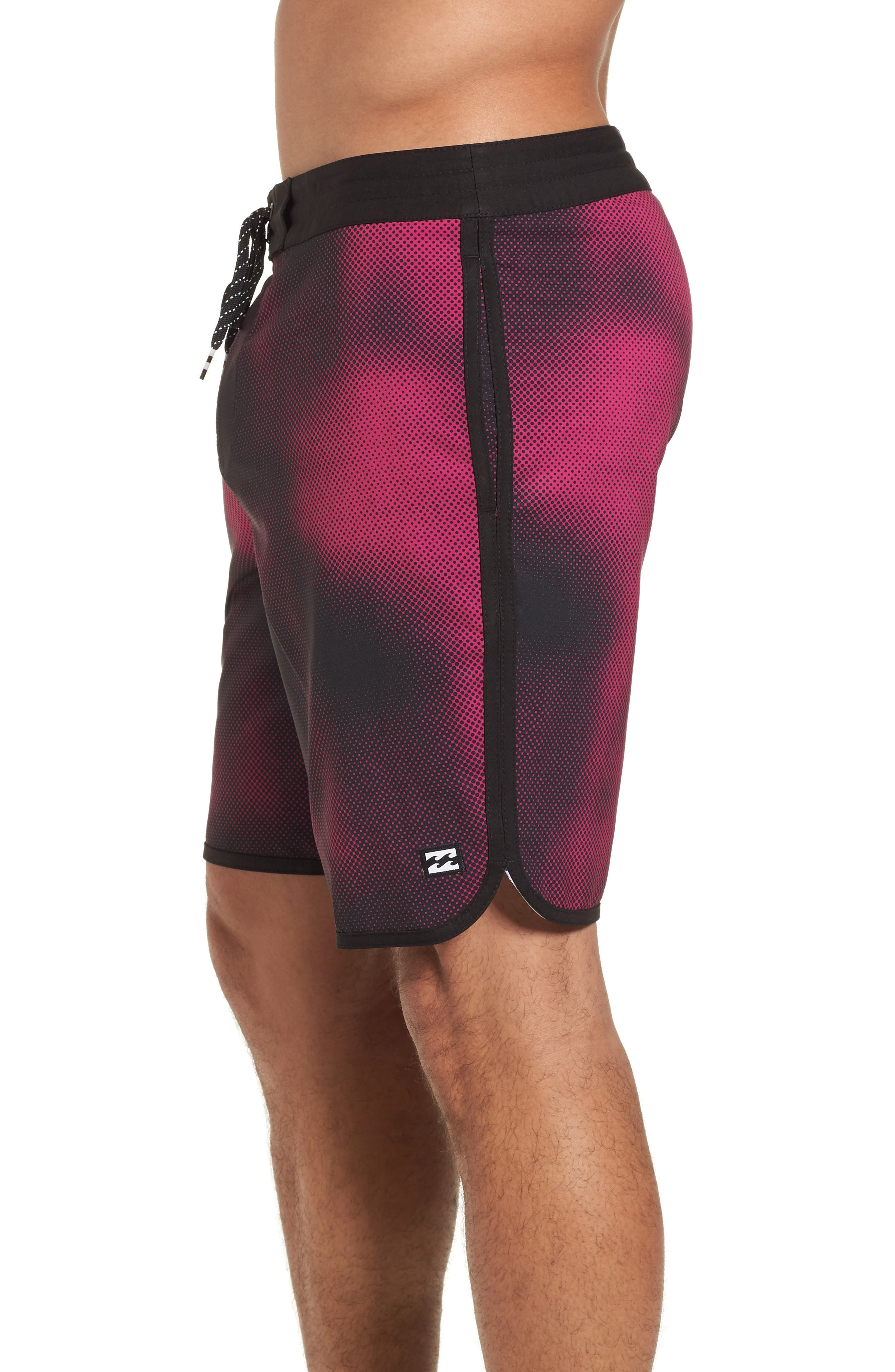 73 Lo Tides Lineup Board Shorts,                             Alternate thumbnail 4, color,                             Stealth