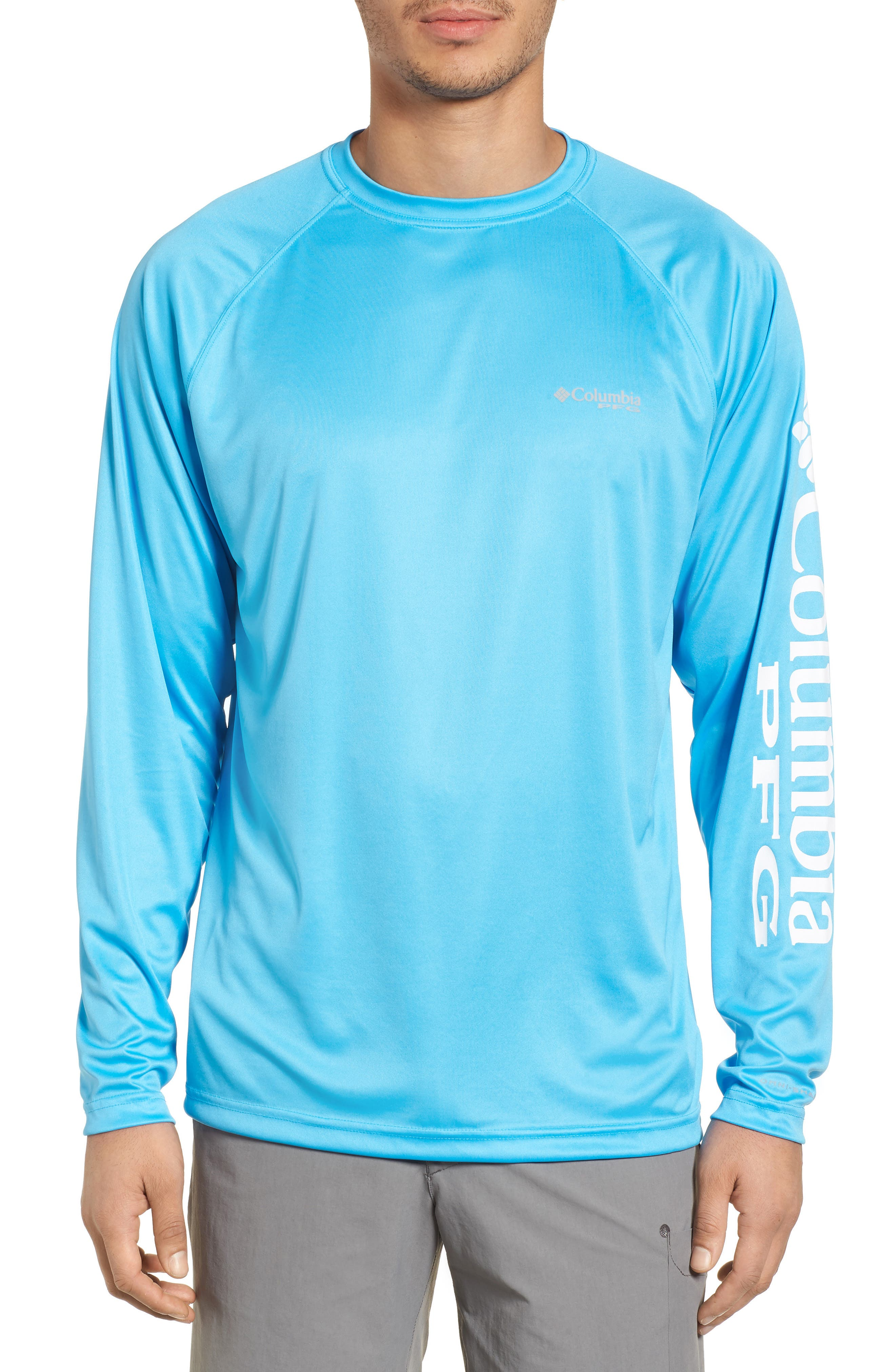 Alternate Image 1 Selected - Columbia PFG Terminal Tackle Performance Long Sleeve T-Shirt