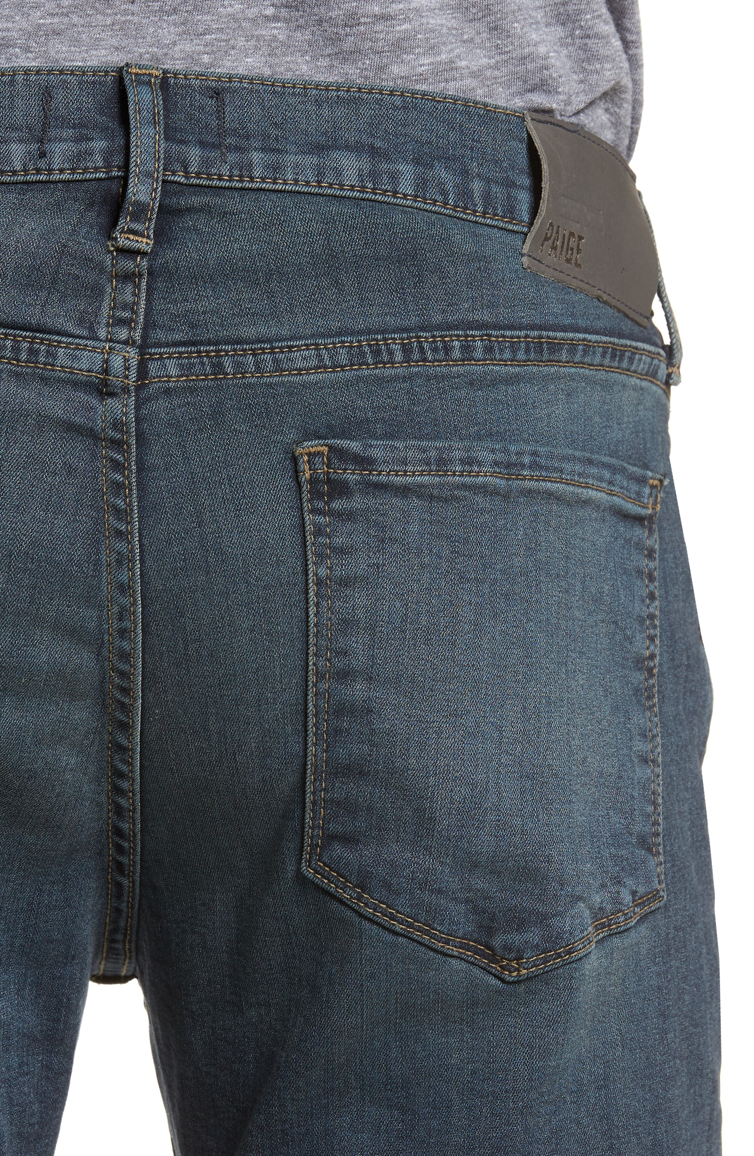 Byron Slim Straight Fit Jeans,                             Alternate thumbnail 4, color,                             Cruise