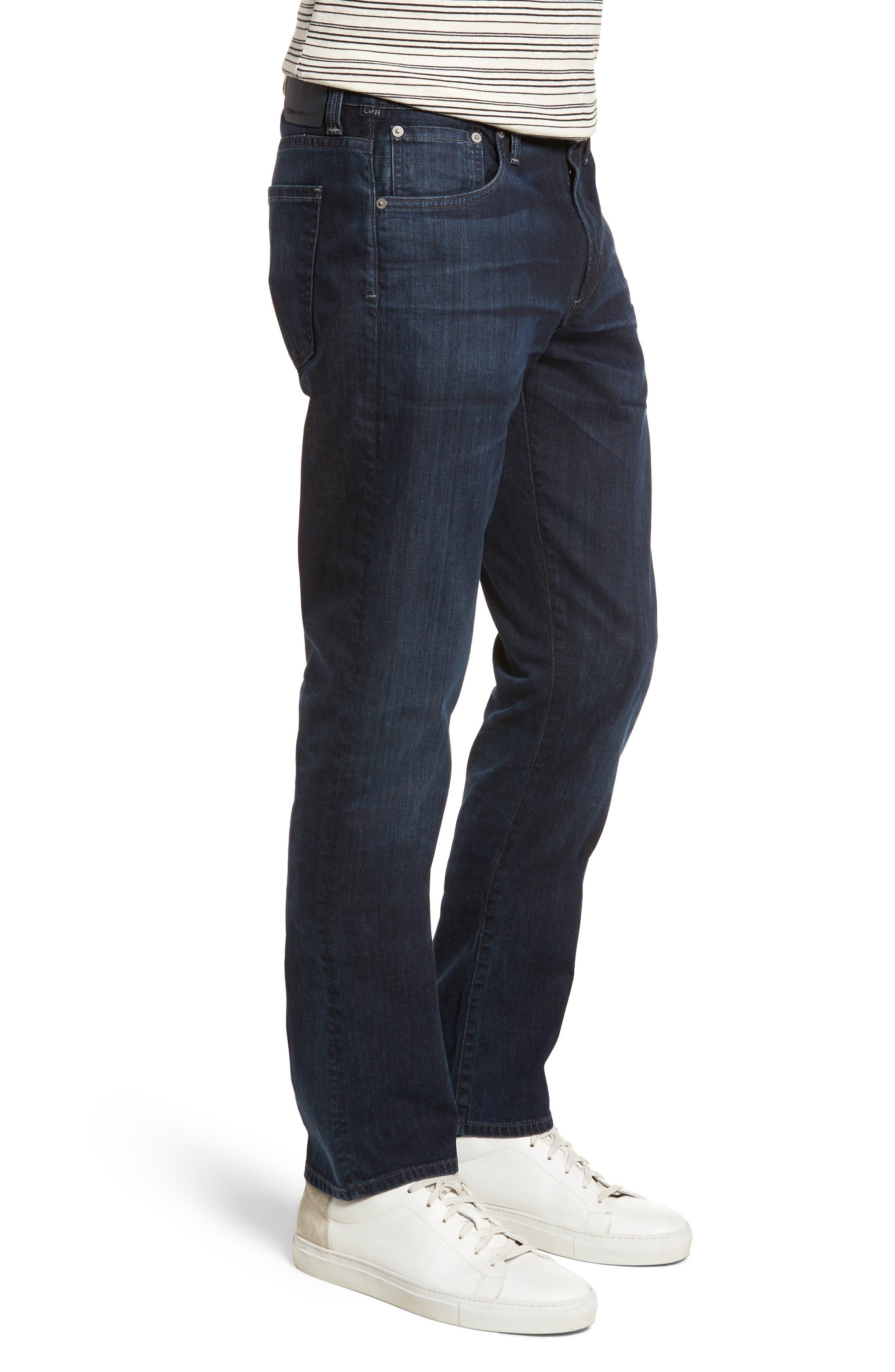 Gage Slim Straight Leg Jeans,                             Alternate thumbnail 3, color,                             Newman