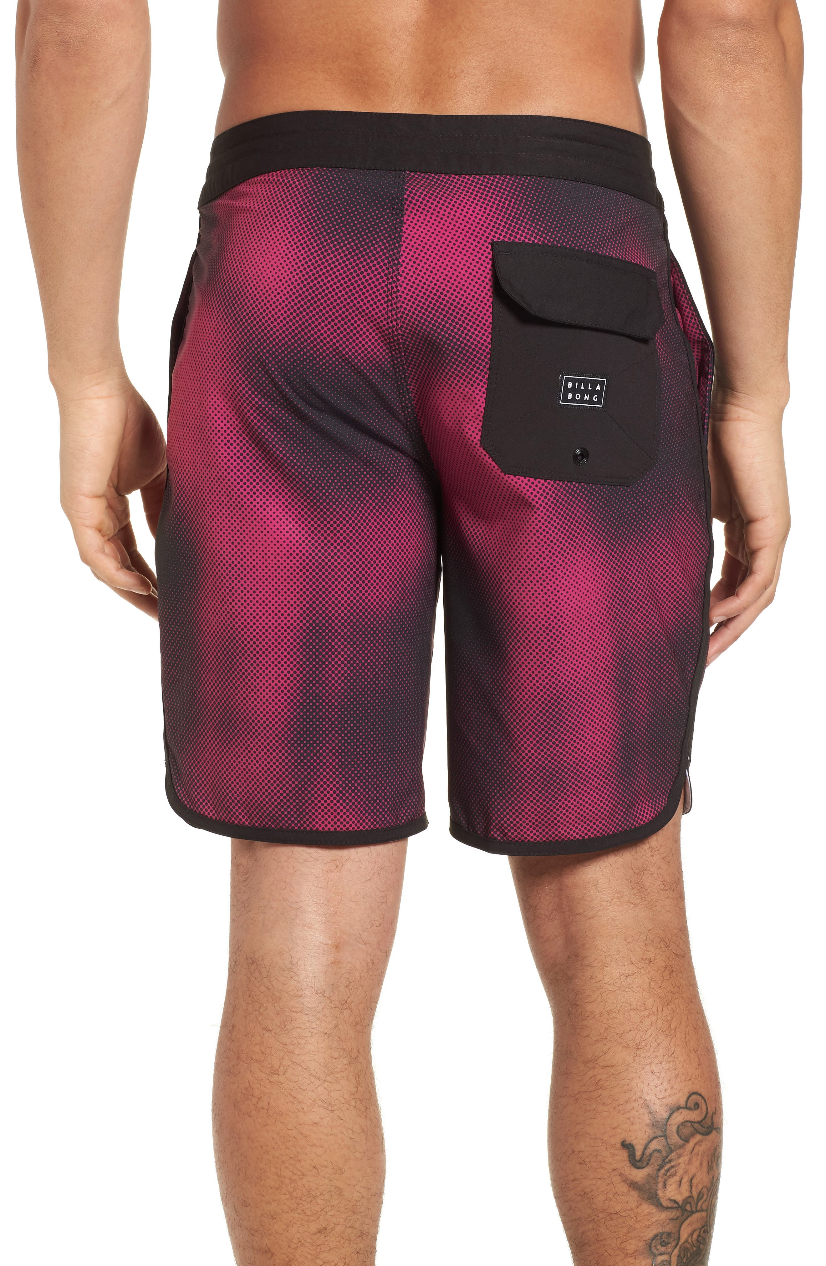 73 Lo Tides Lineup Board Shorts,                             Alternate thumbnail 2, color,                             Stealth