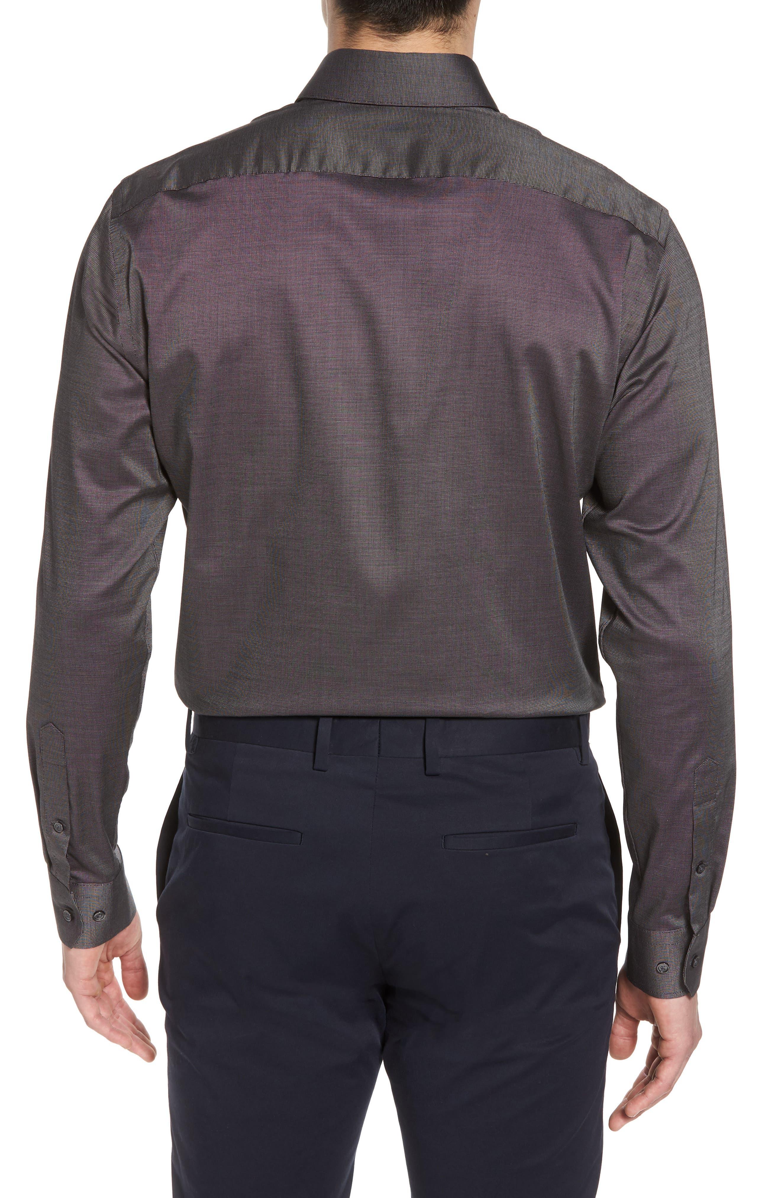 Alternate Image 2  - Calibrate Trim Fit Stretch Solid Dress Shirt