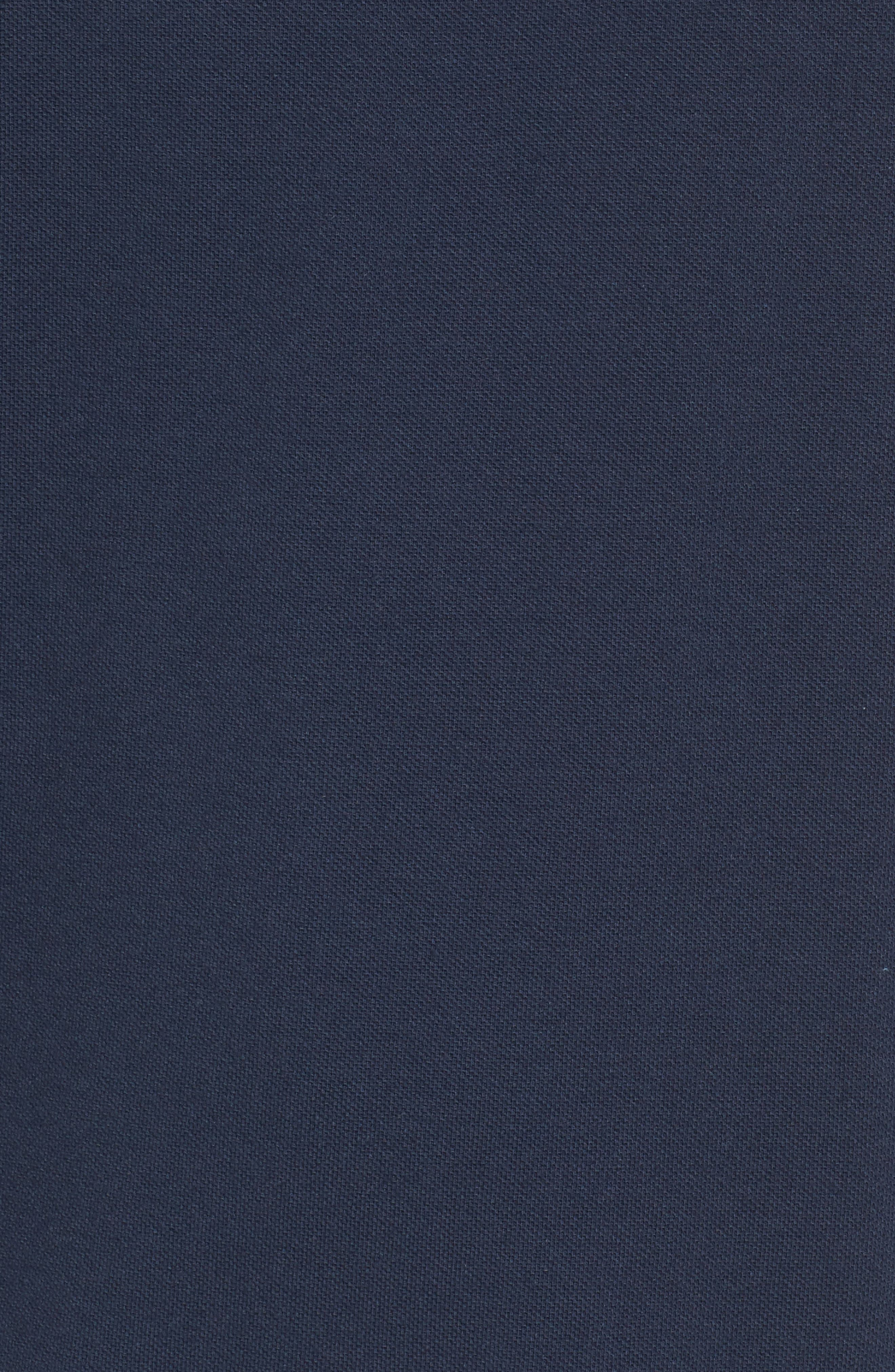 Salton Embroidered Piqué Tank,                             Alternate thumbnail 5, color,                             Dress Blues