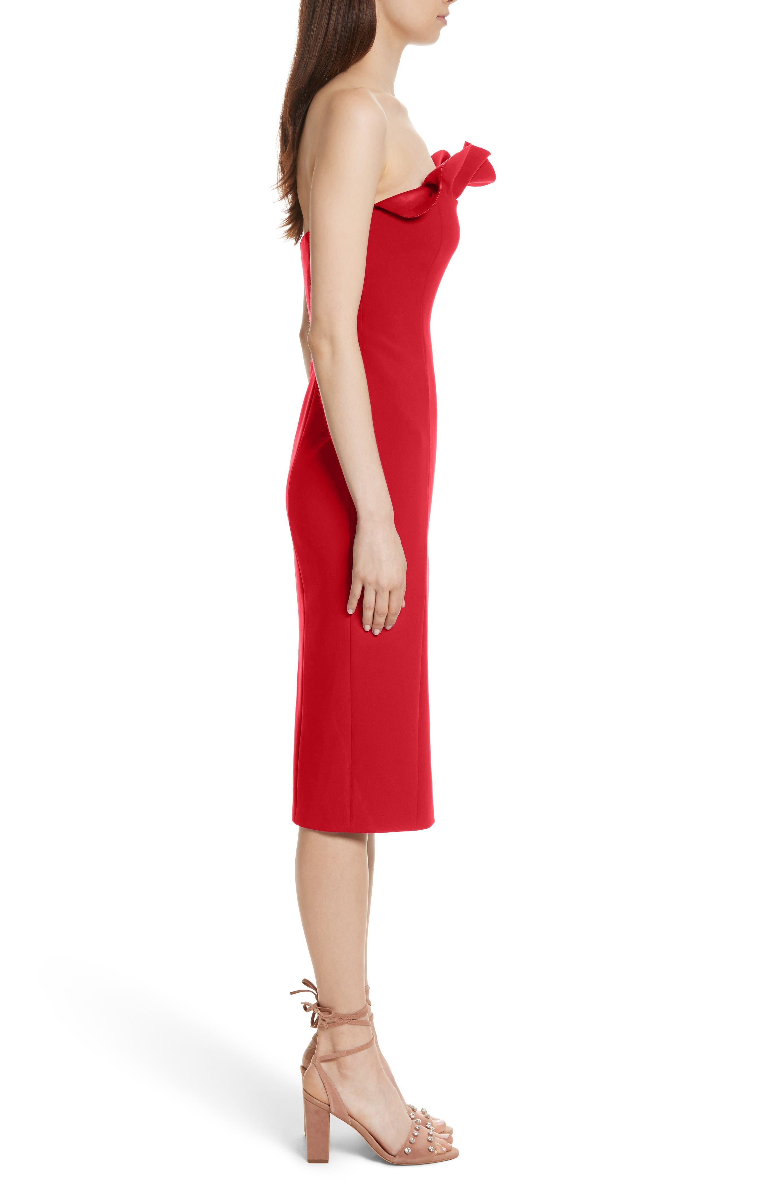 Alternate Image 3  - Cinq à Sept Jolie Marceau Strapless Dress