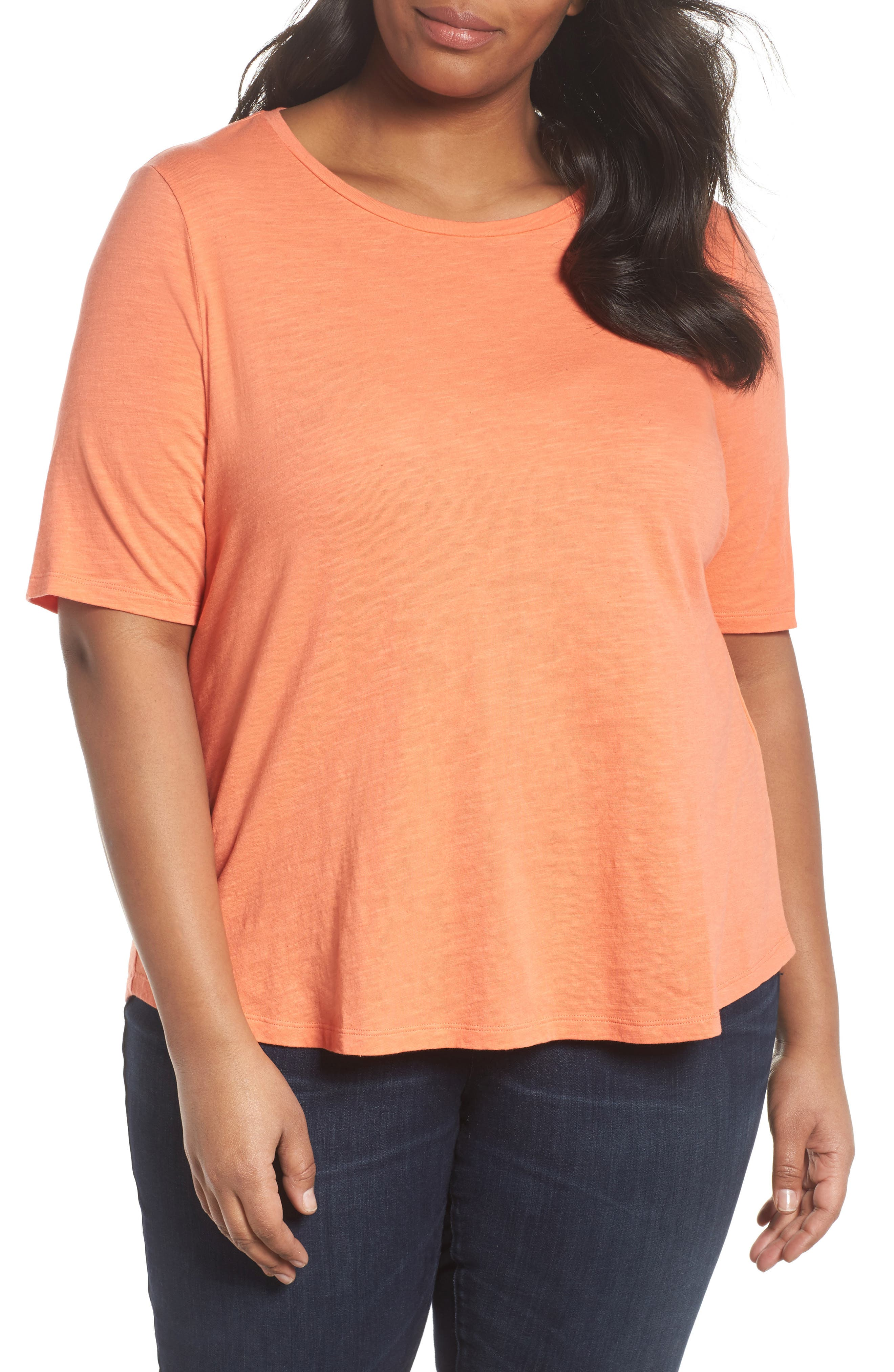 Crewneck Tee,                         Main,                         color, Arabesque