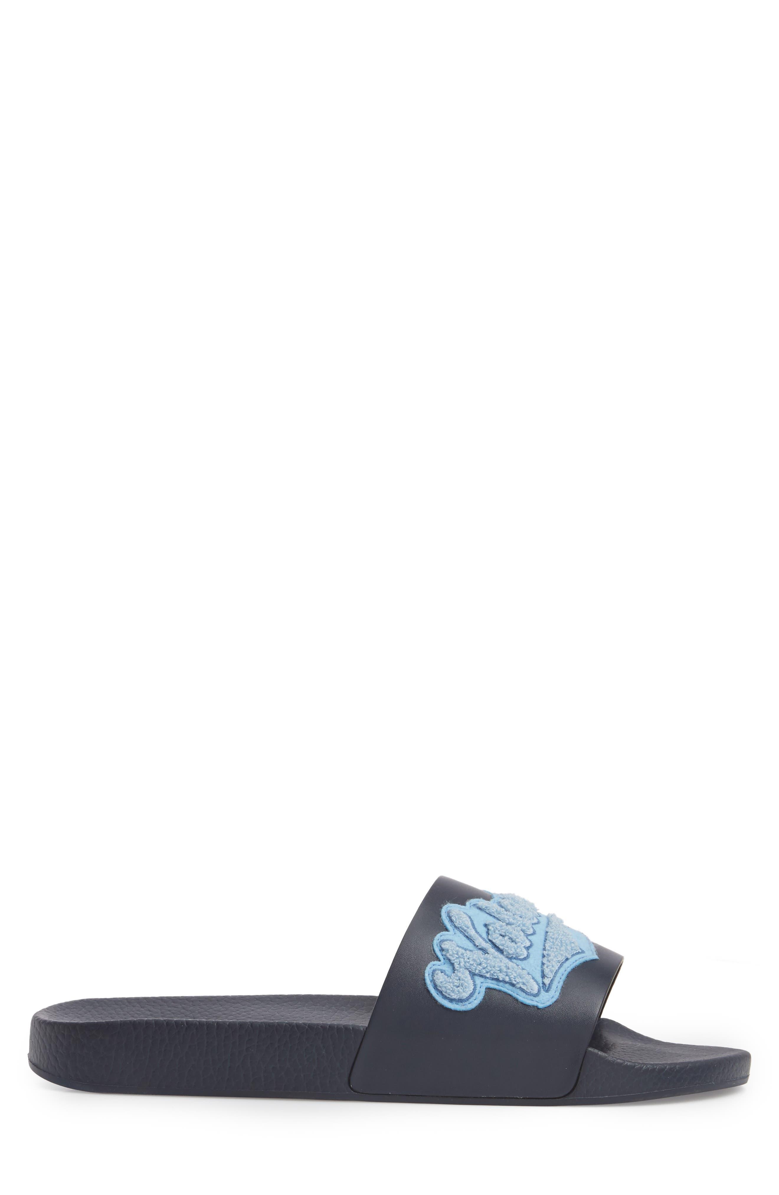 Slide Sandal,                             Alternate thumbnail 3, color,                             Marine/ Stone