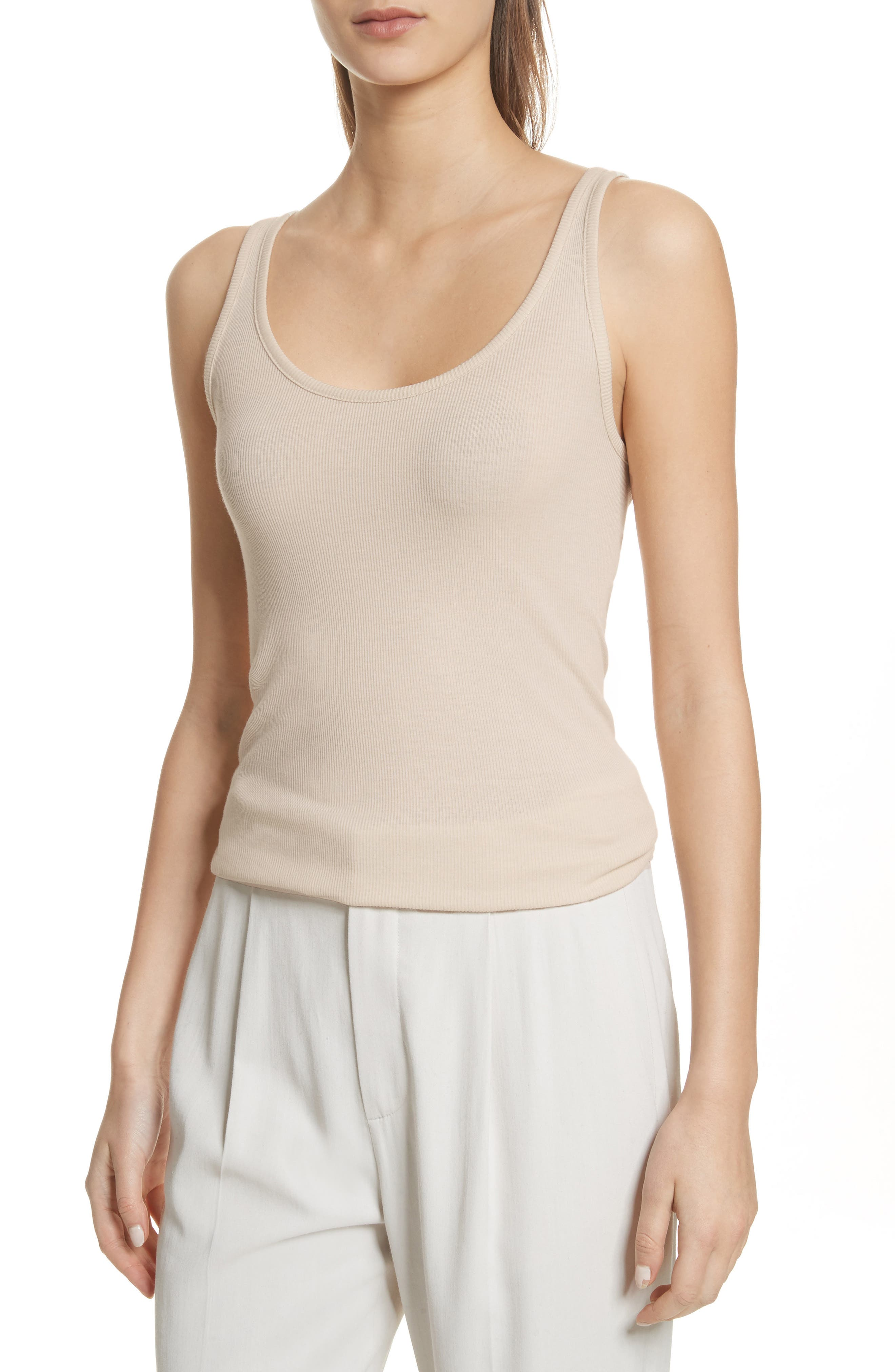 Main Image - Vince Scoop Neck Tank