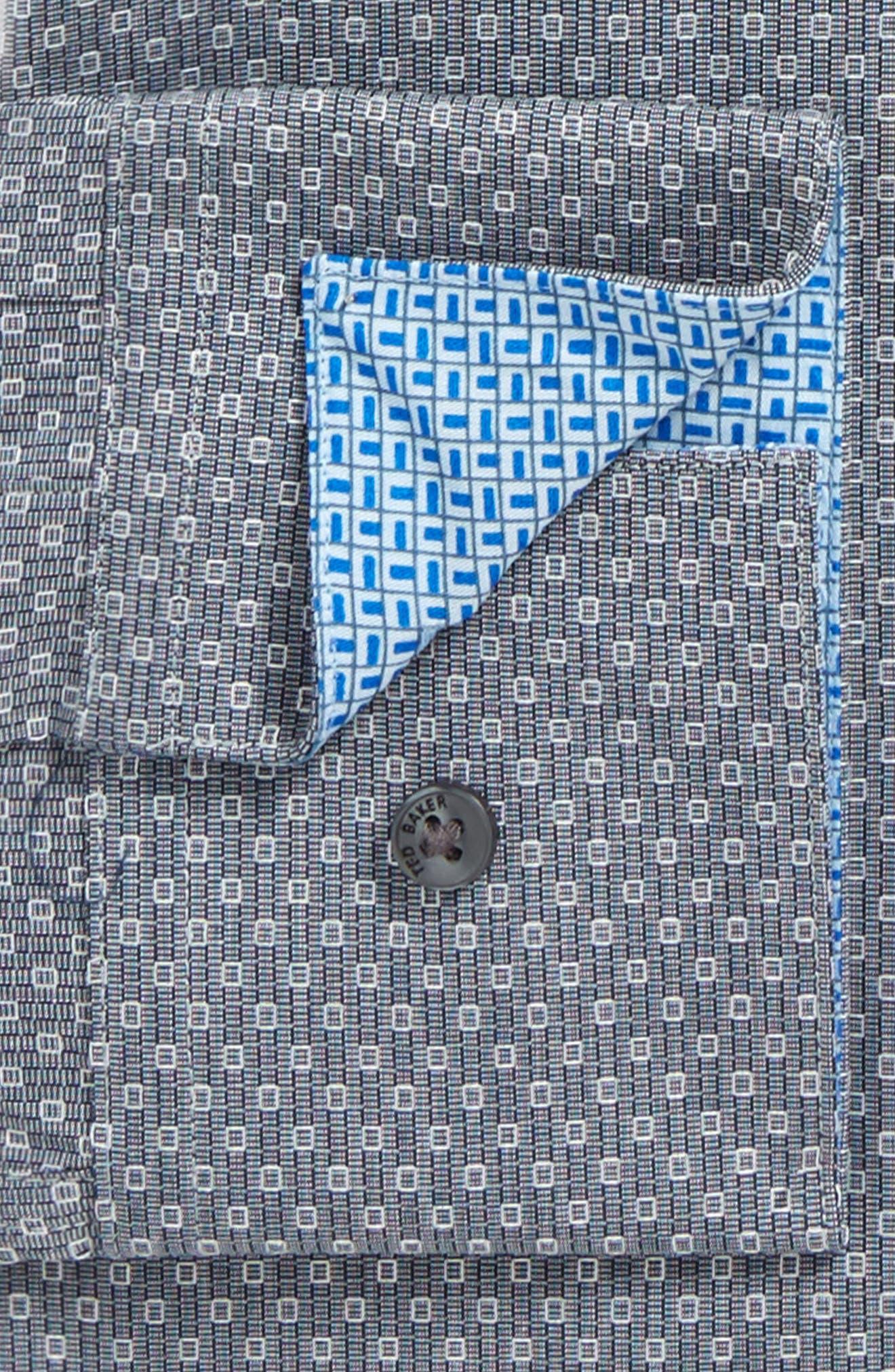 Endurance Oronoco Trim Fit Dress Shirt,                             Alternate thumbnail 2, color,                             Grey