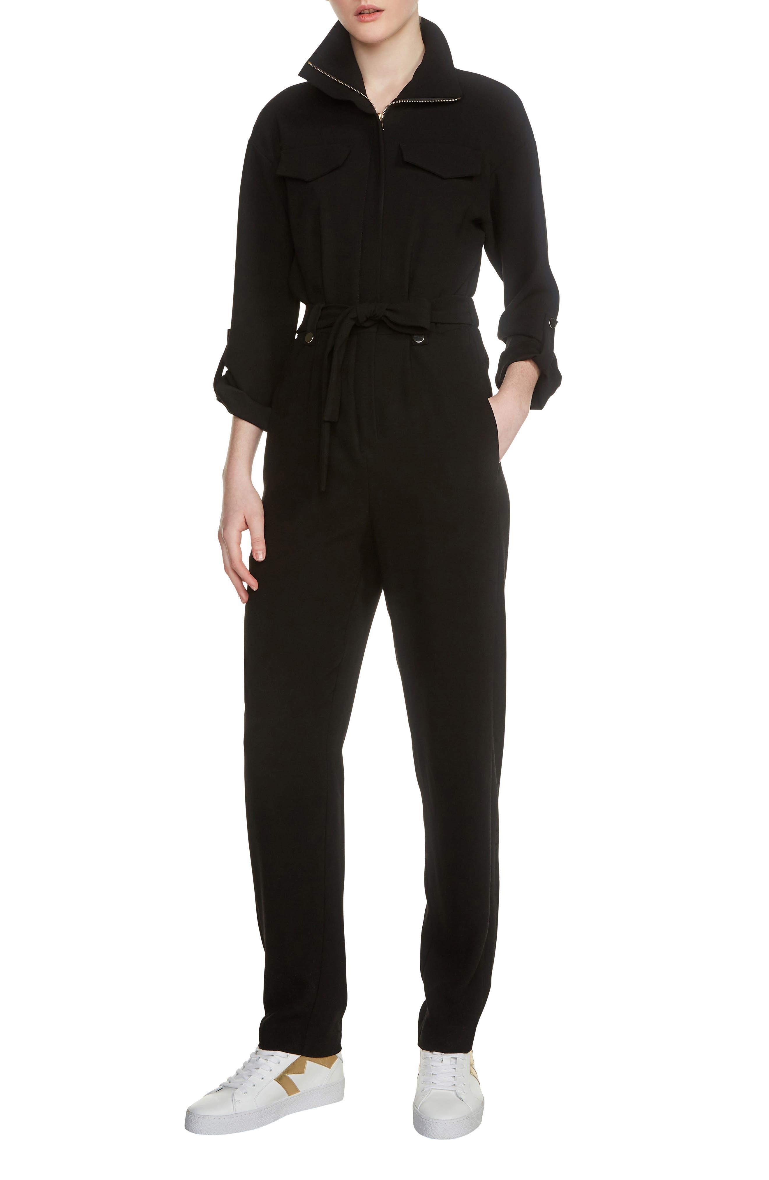 Papritea Jumpsuit,                         Main,                         color, Black 210