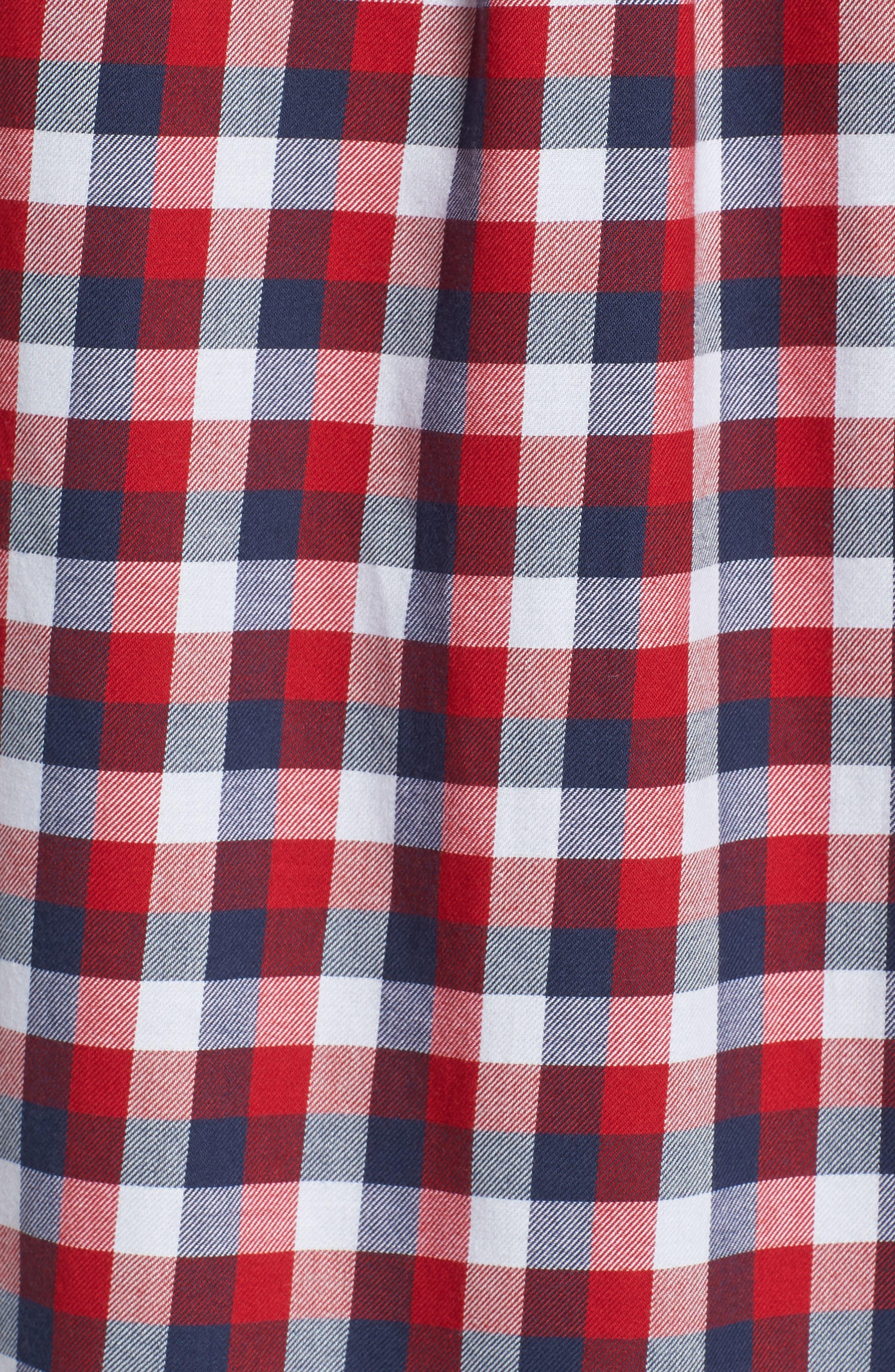 Alternate Image 5  - Vans Alameda II Plaid Flannel Shirt
