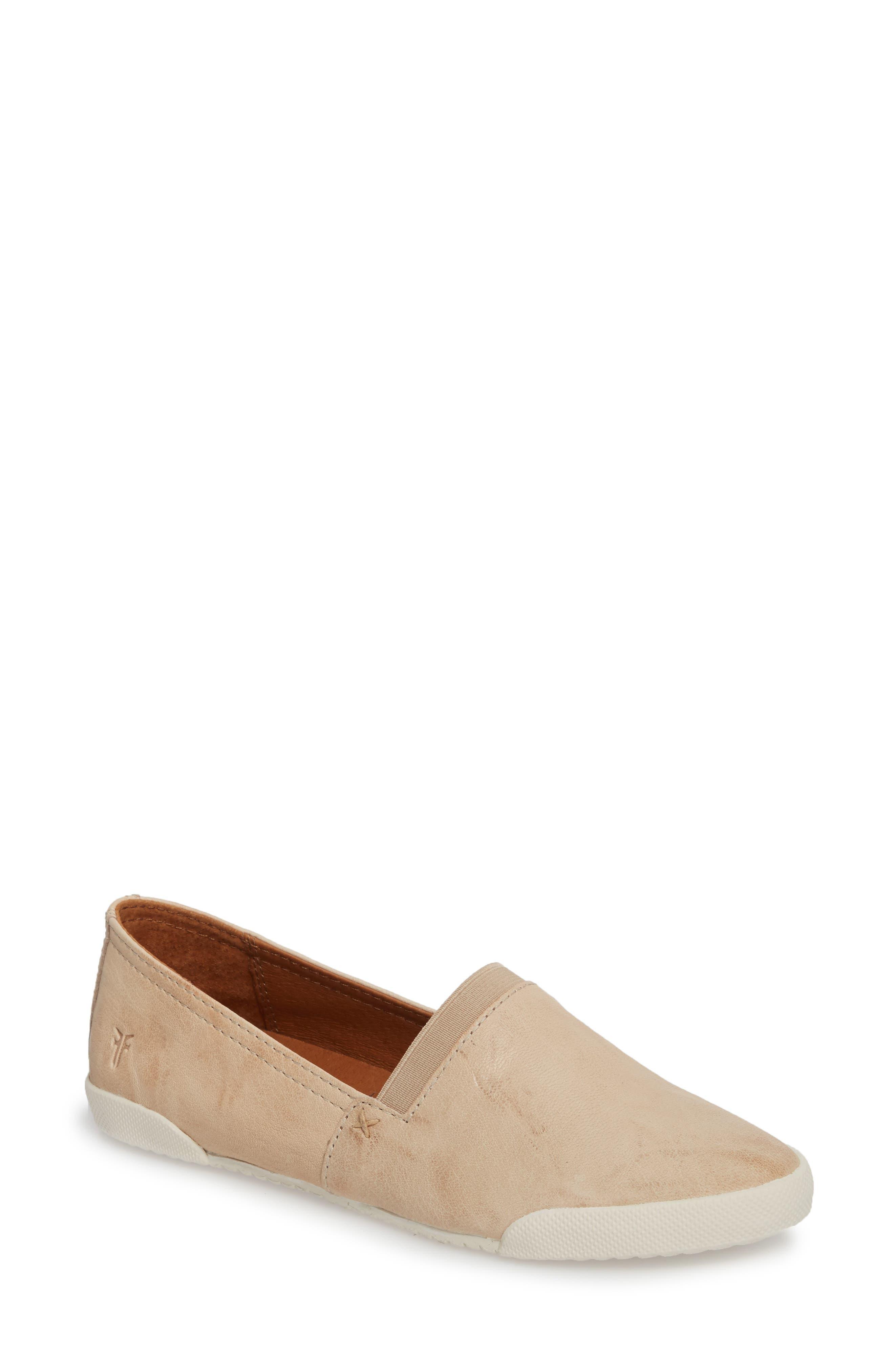 'Melanie' Slip-On,                         Main,                         color, Cream