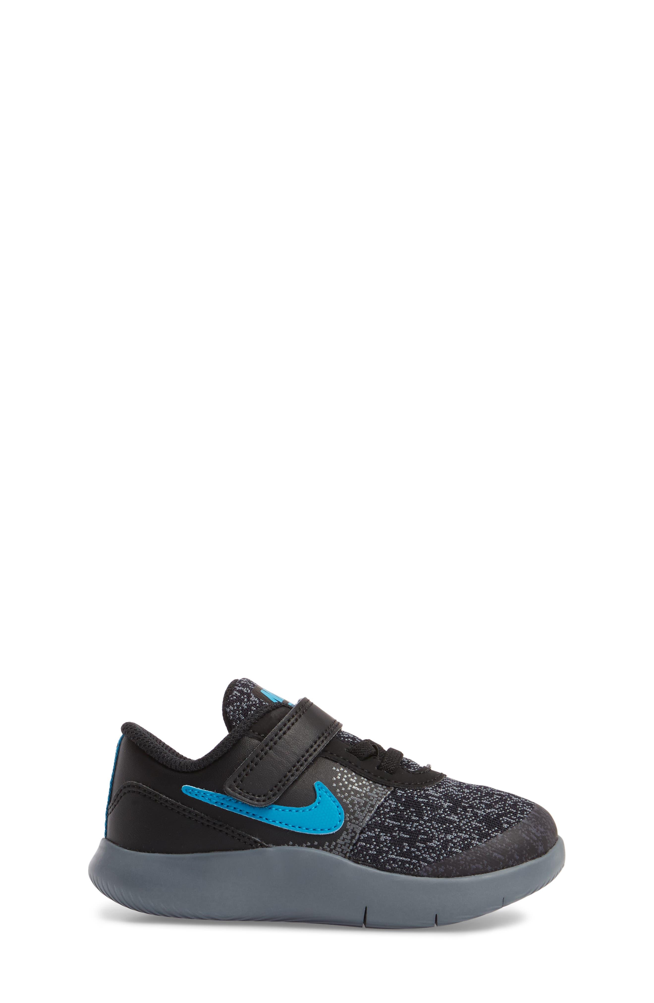 Alternate Image 3  - Nike Flex Contact Running Shoe (Baby, Walker, Toddler & Little Kid)