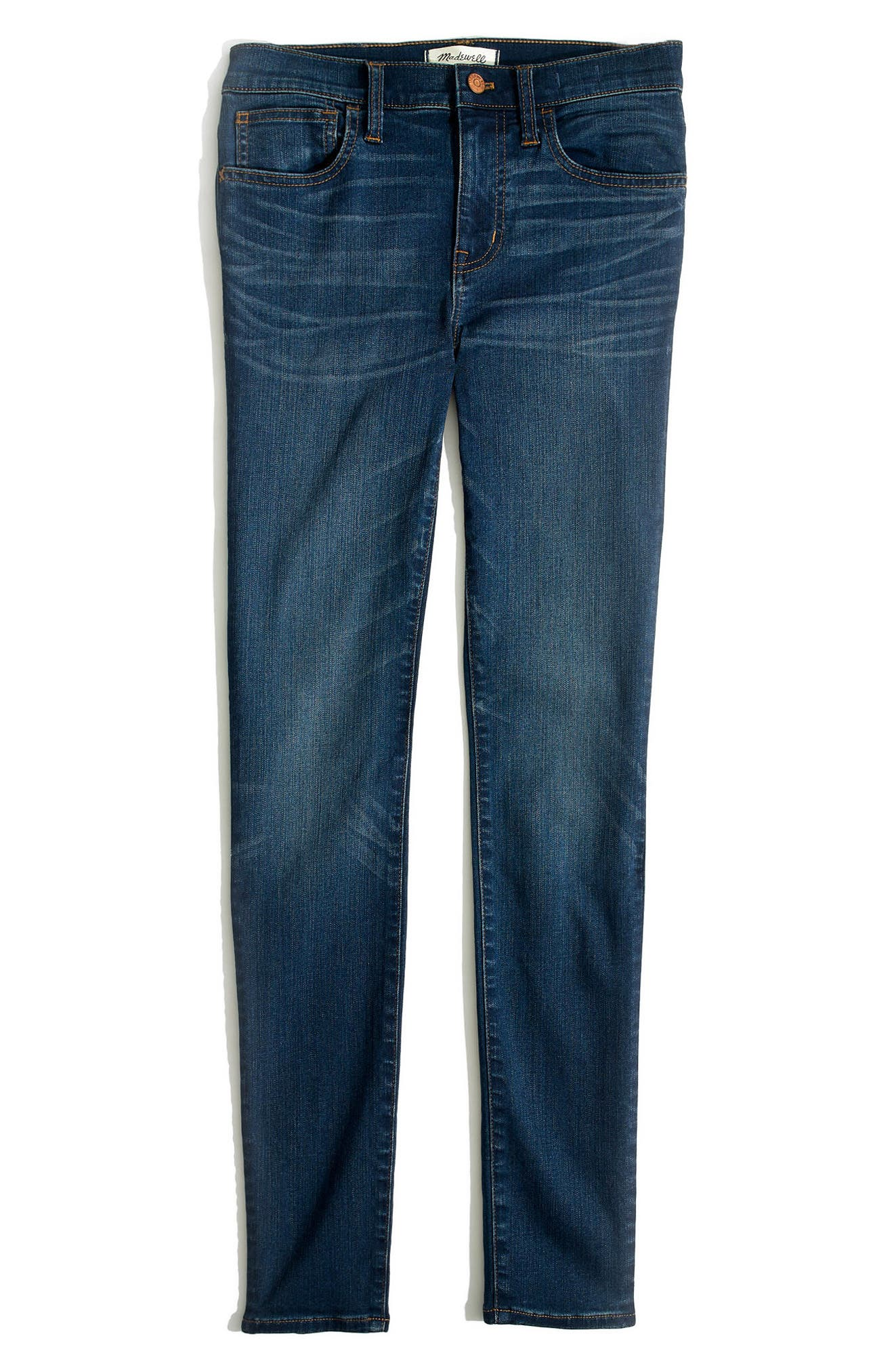 Roadtripper High Waist Skinny Jeans,                             Alternate thumbnail 4, color,                             Orson Wash